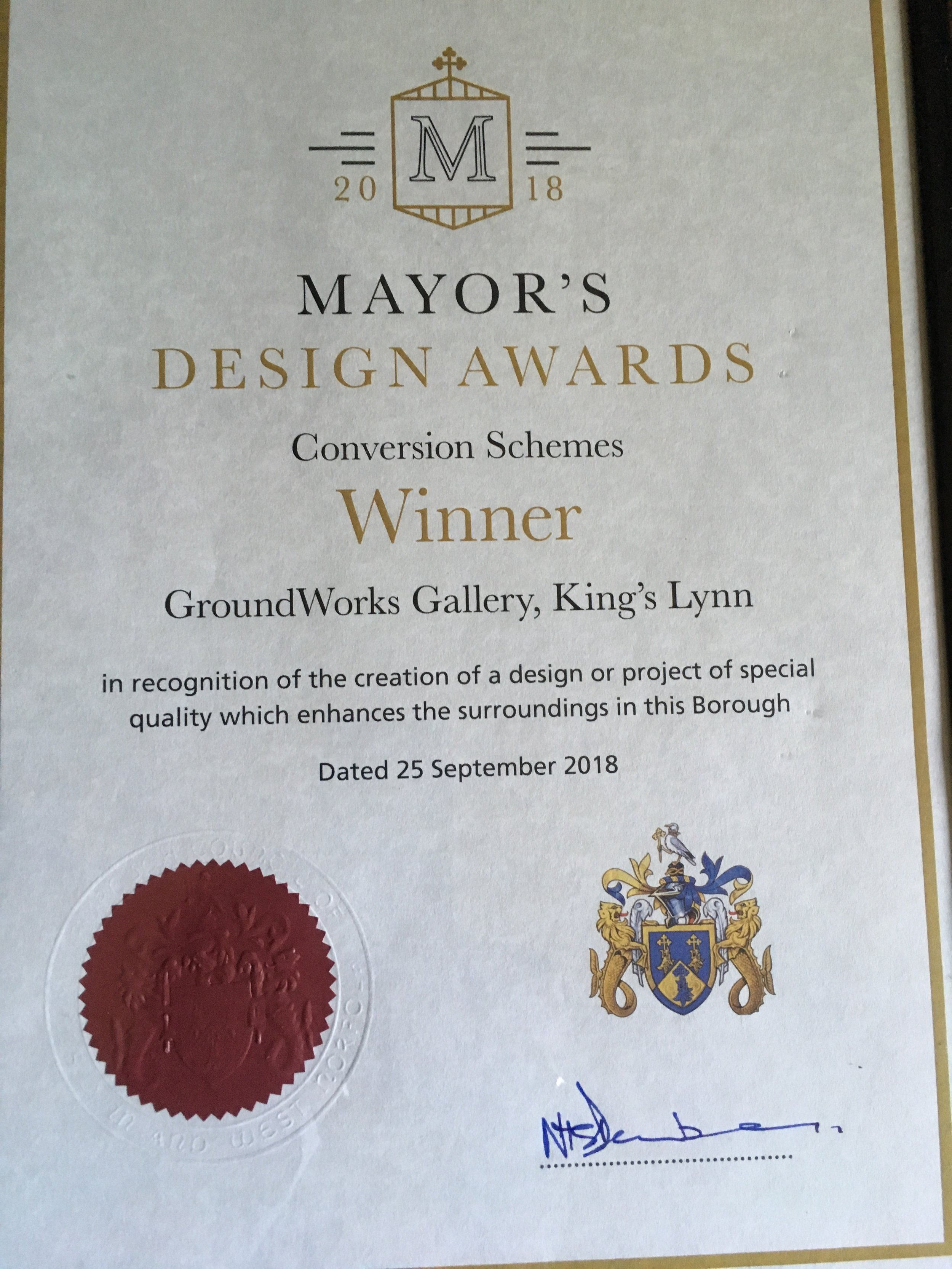 Mayor's design award.jpg