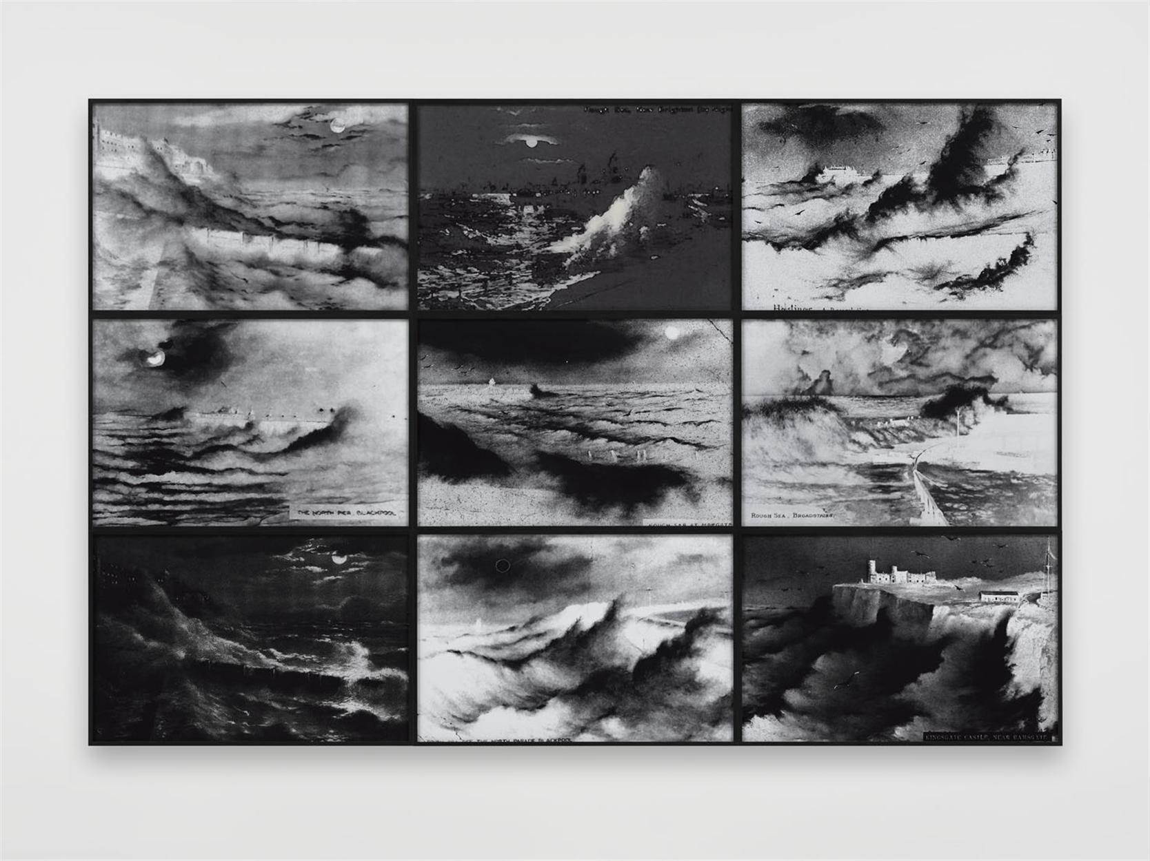 Susan Hiller, Rough Moonlit Nights, 2015 (Courtesy Lisson Gallery)