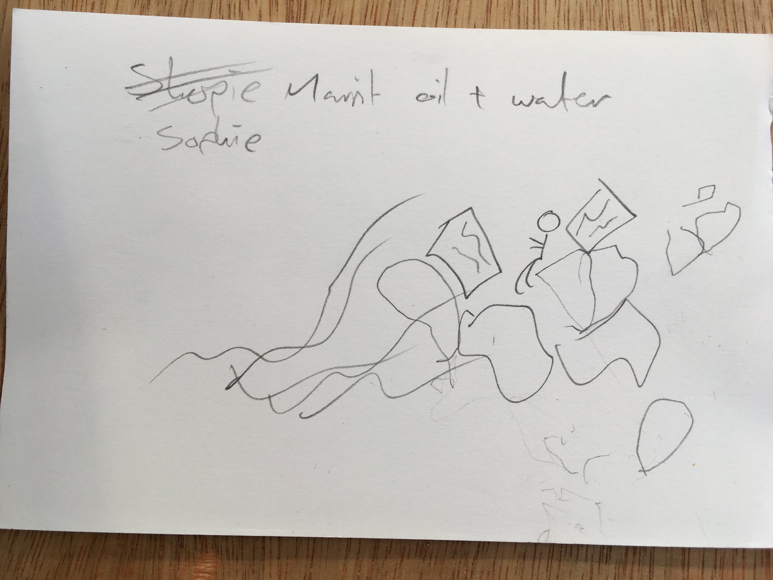 Living with Water, drawing by participant