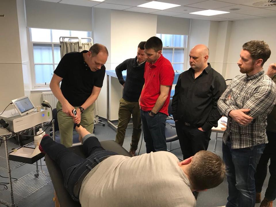 Rob Cox Venn Healthcare Shockwave therapy CPD course.jpg