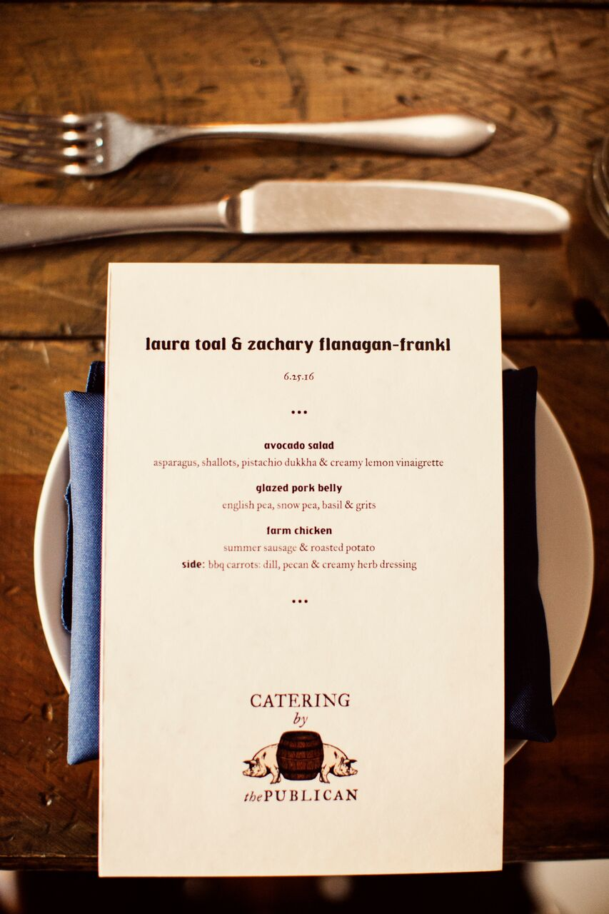 White and red simple menu cards  Planning By Wrap It Up Parties  Artifact Events