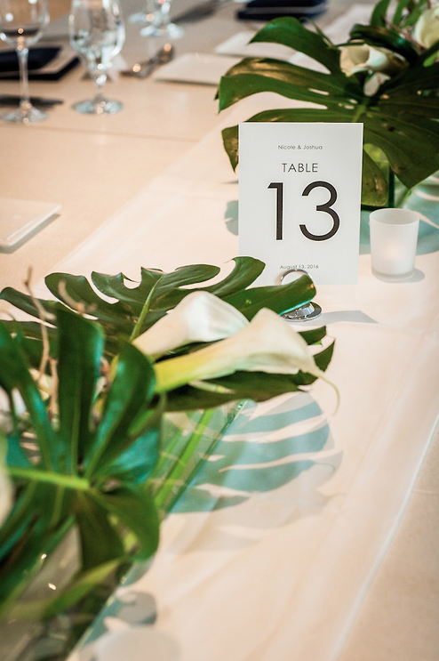 flowers, table numbers, Art Institute of Chicago, Wrap It Up Parties