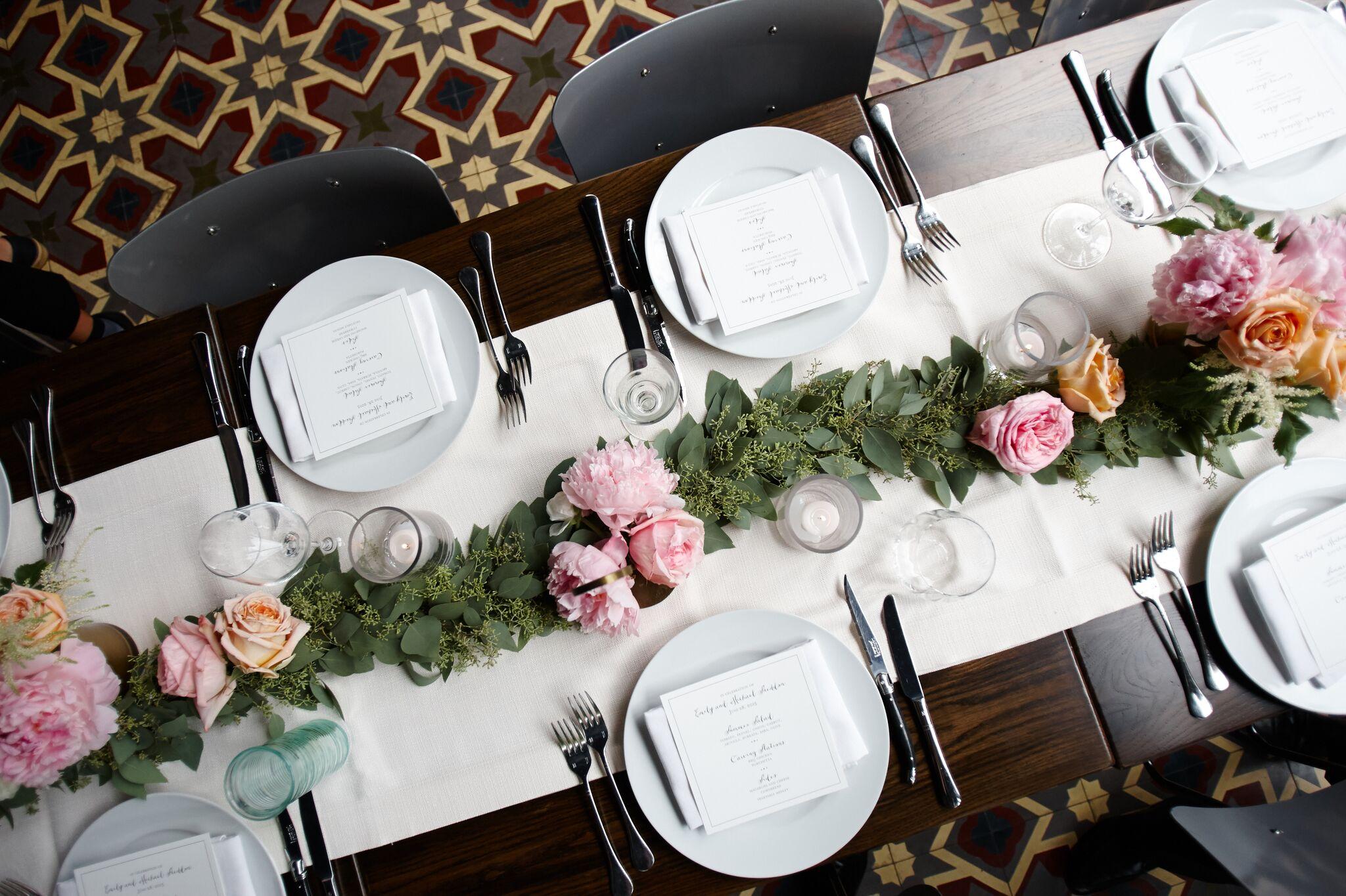 Long table Garland