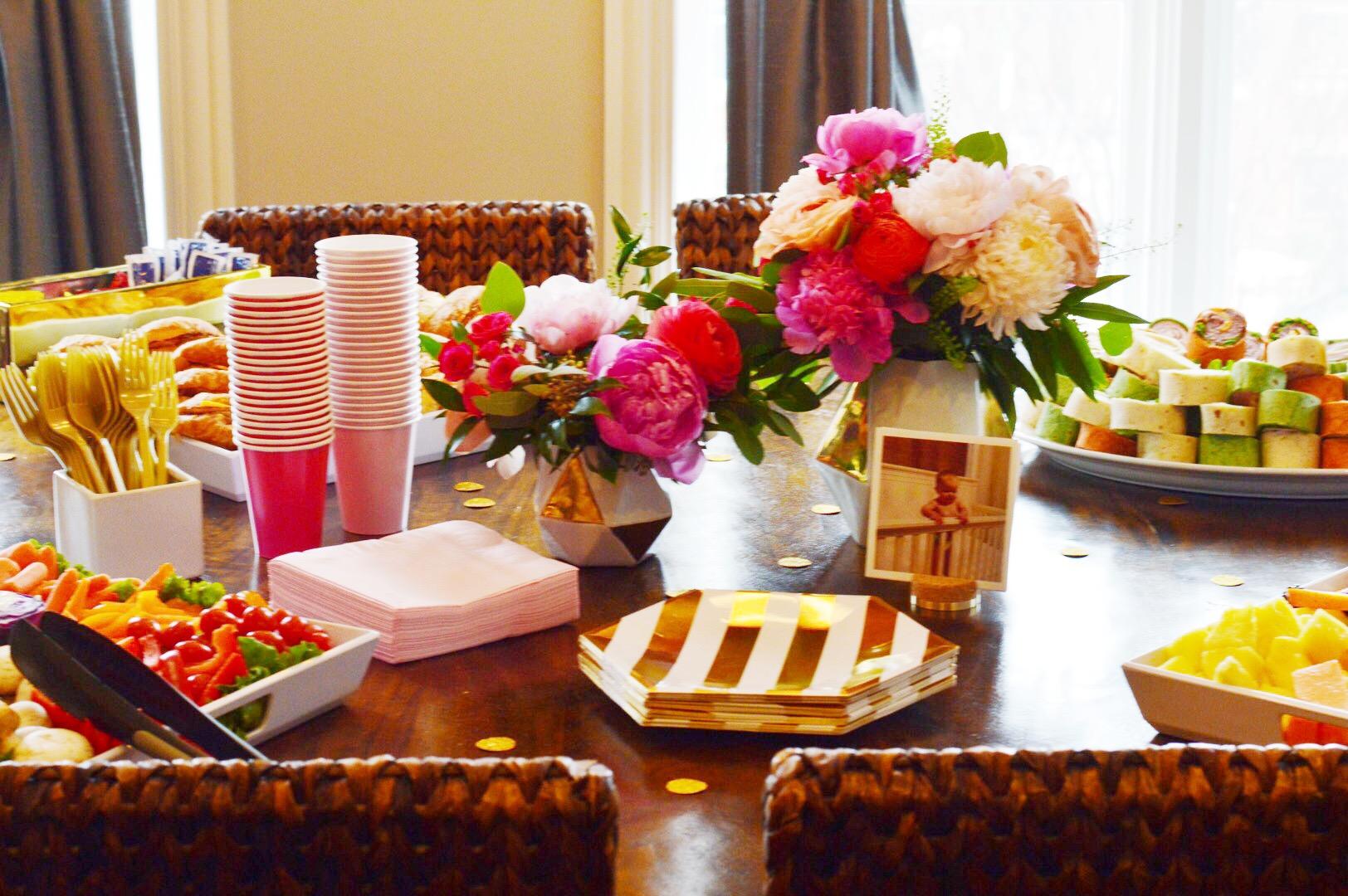 Bright Pink Floral Arrangements