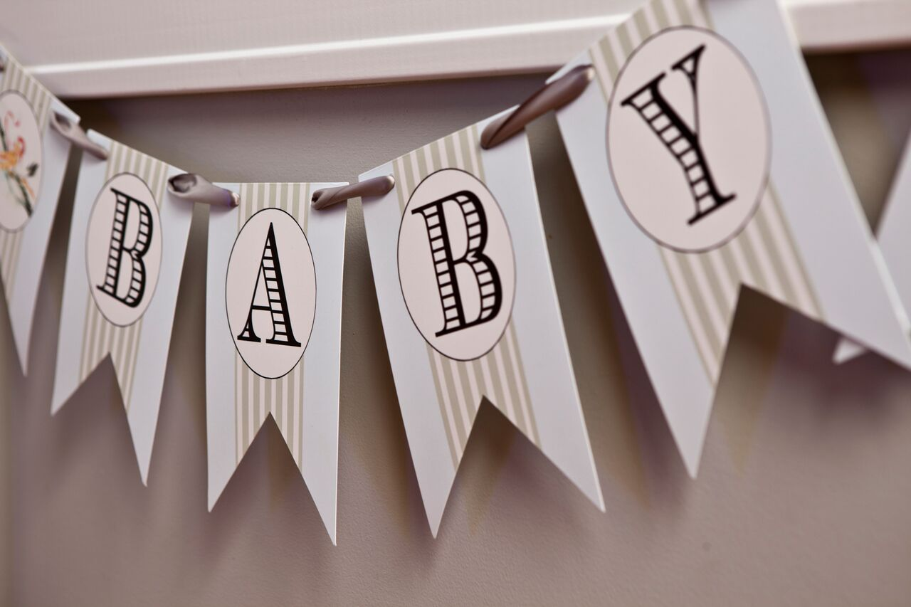 Baby Name Reveal Sign