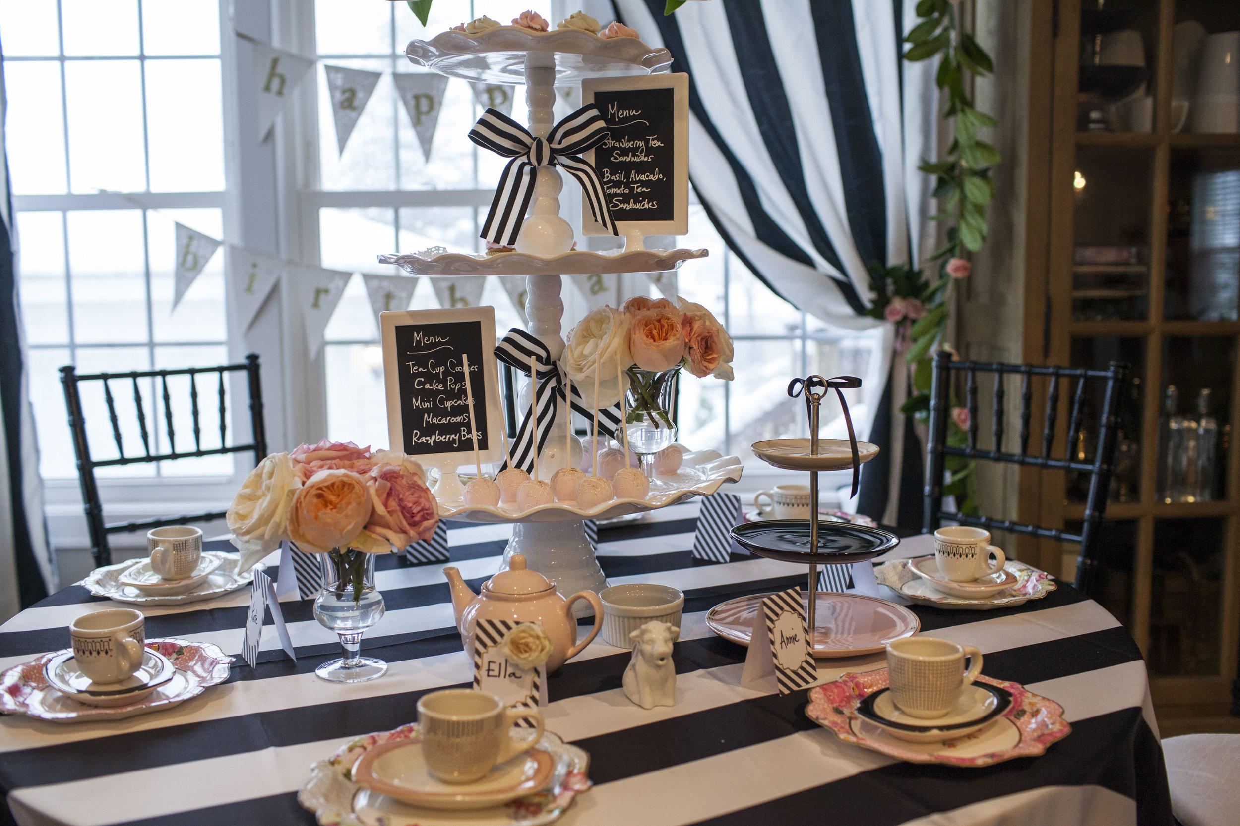 Tea Time! 6th Birthday Party