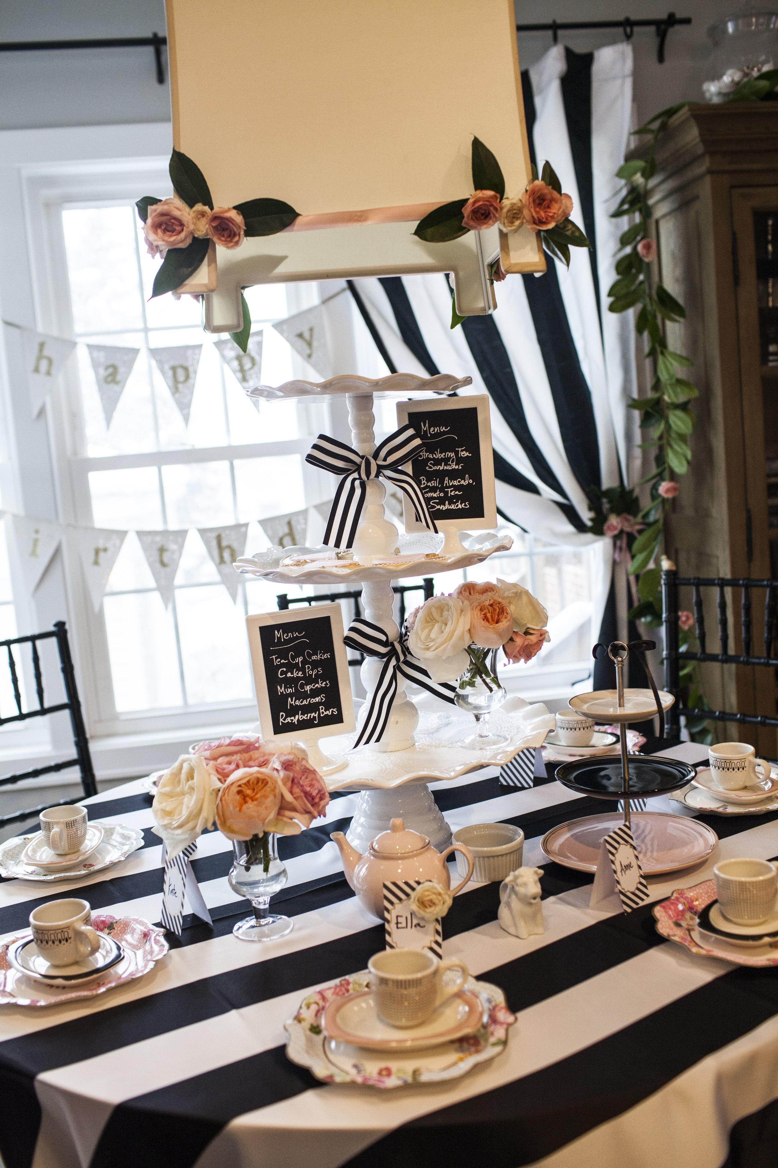 french tea birthday party, tea party, girls tea party, birthday party, Wrap It Up Parties