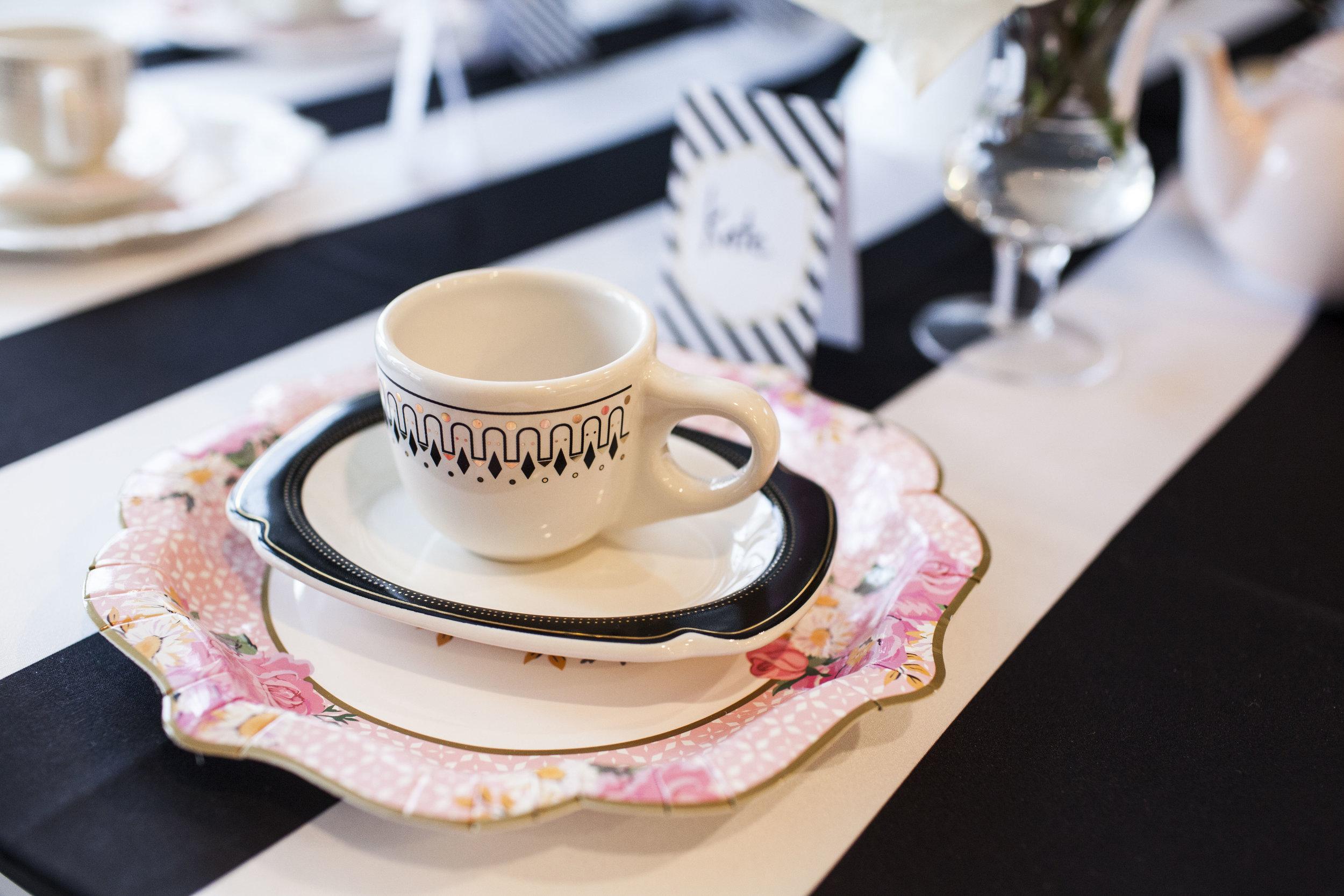 tea party, tea theme, birthday party, Wrap It Up Parties