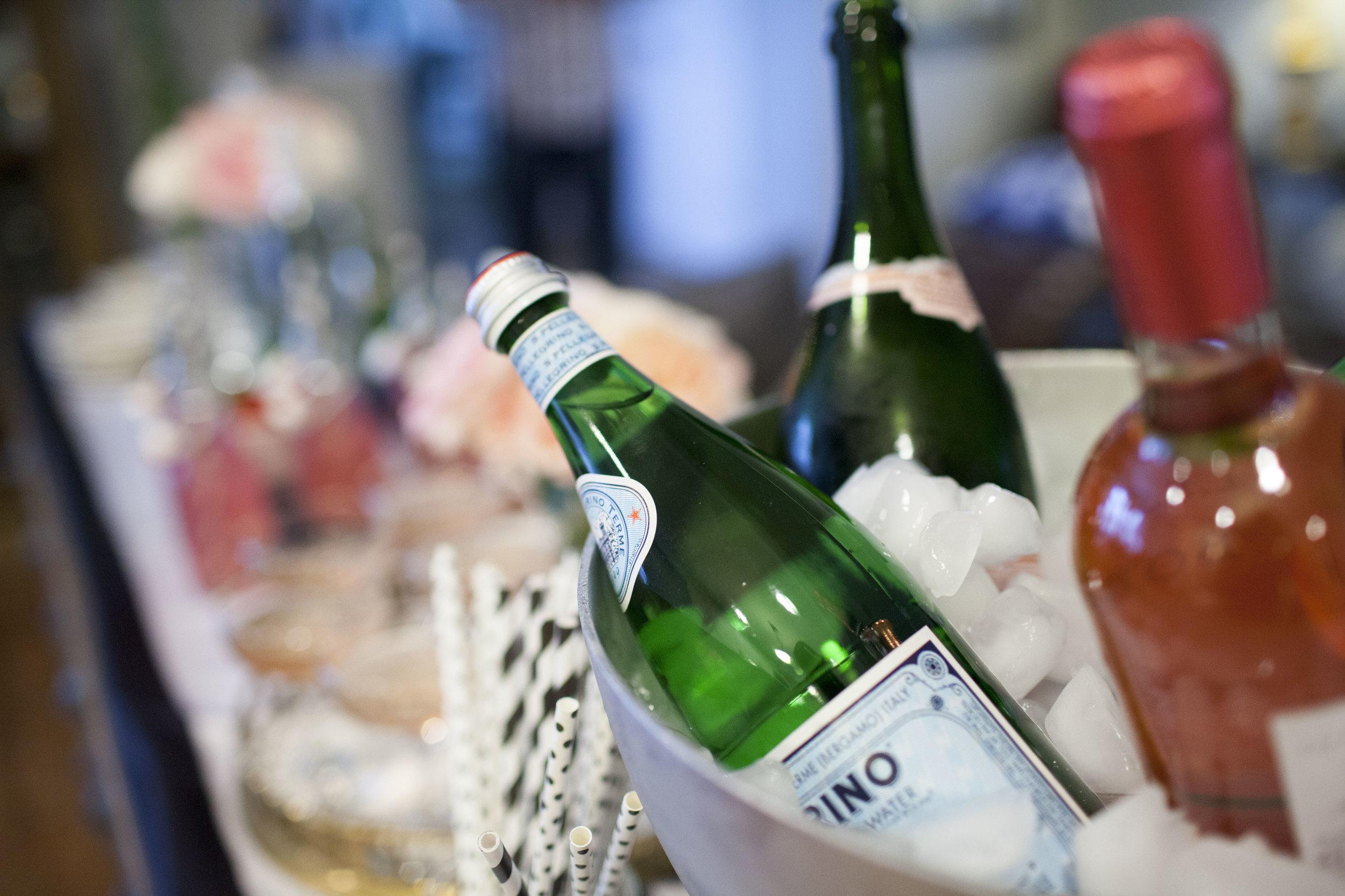 tea party drinks, tea party decor, Wrap It Up Parties