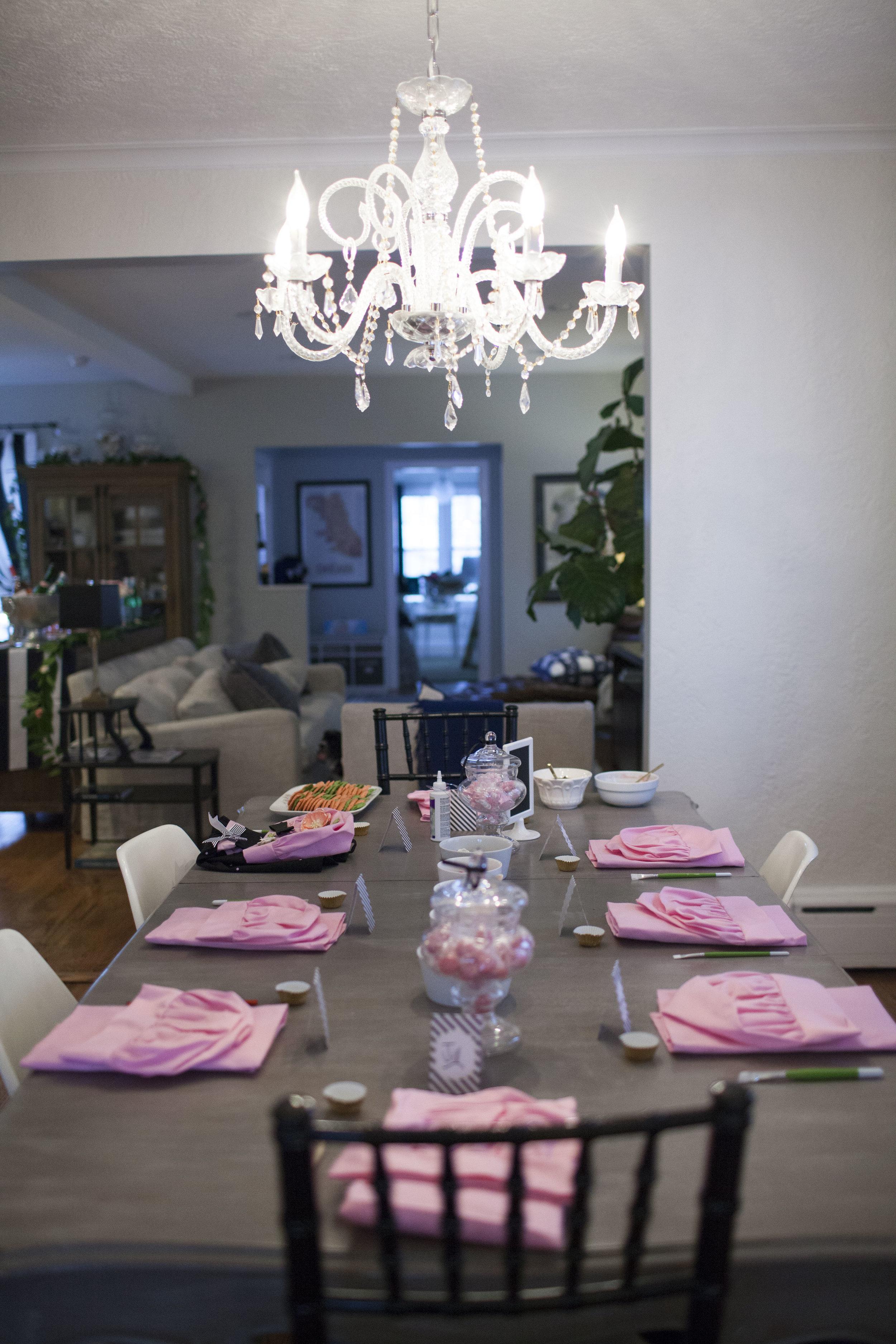 girls tea party, tea party decor, Wrap It Up Parties