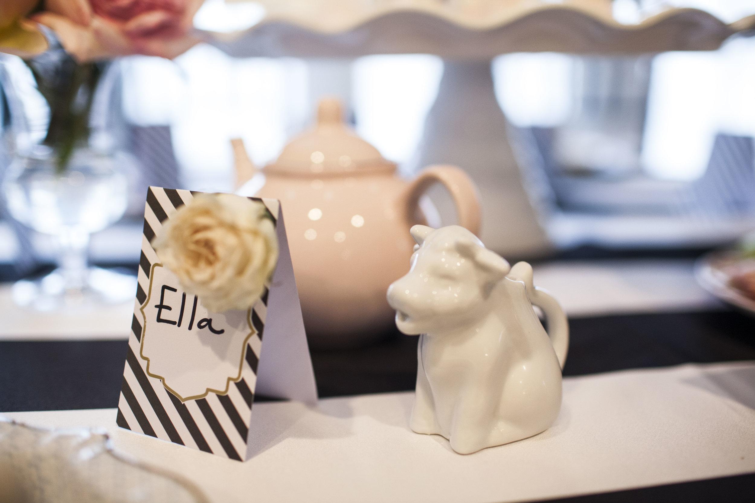 tea party, tea pot, tea party details, Wrap It Up Parties