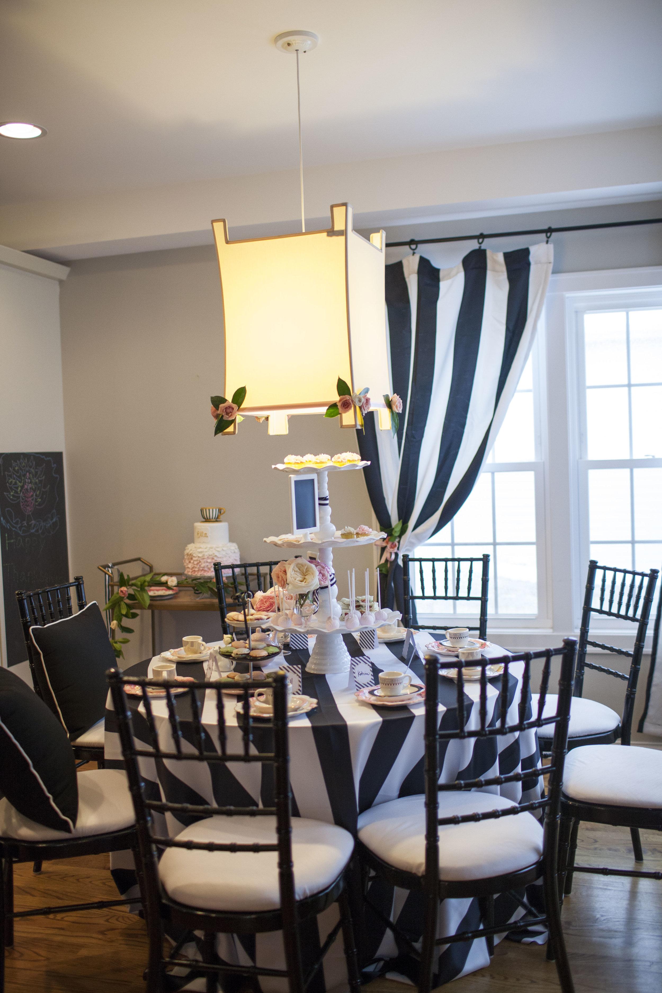 tea party, tea party decor, Wrap It Up Parties