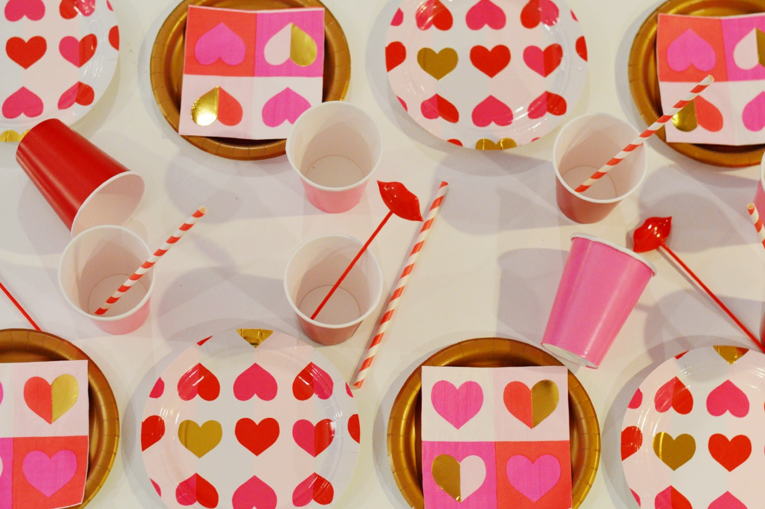 donut party, valentines day party, heart decorations, Wrap It Up Parties