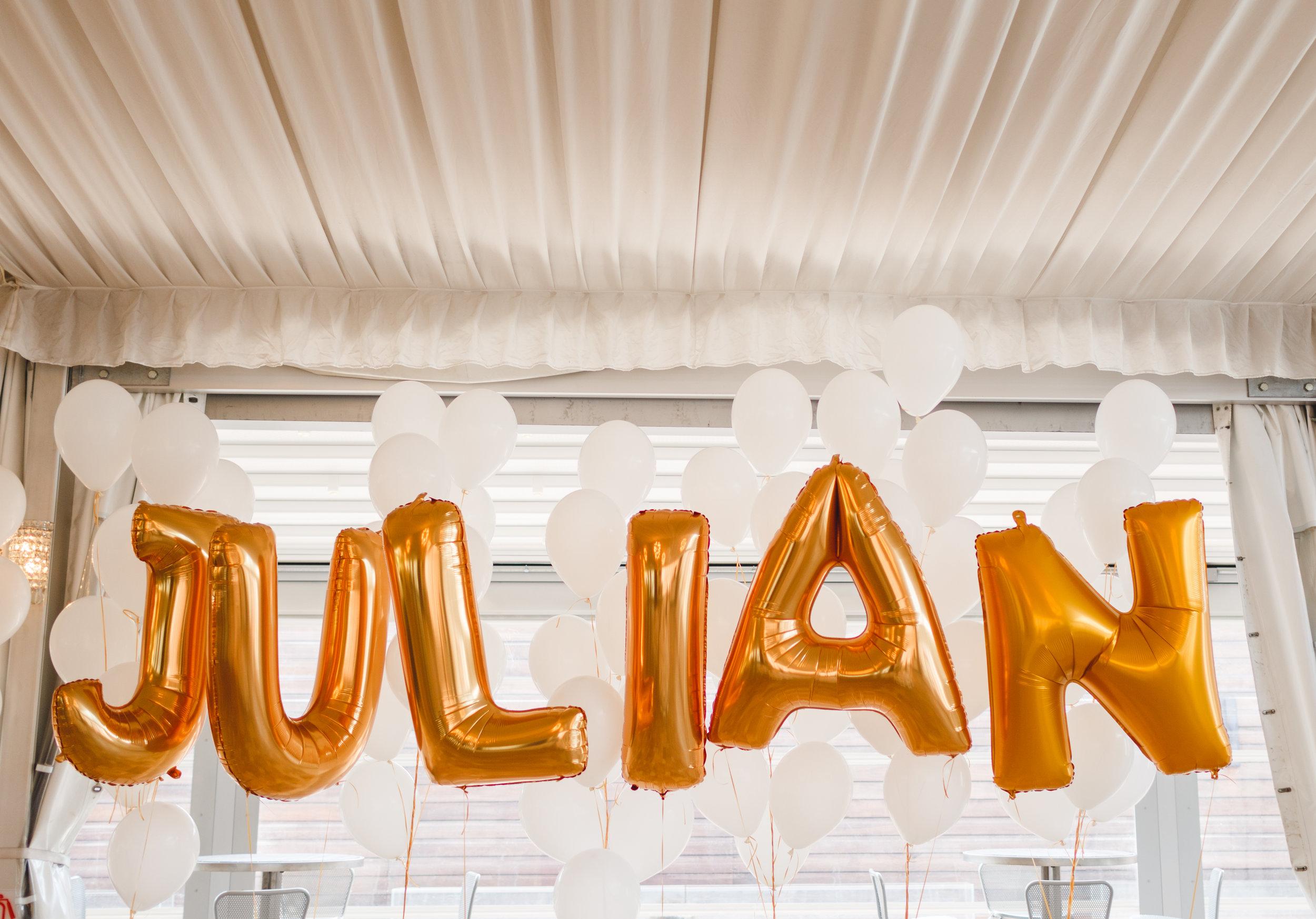 star wars birthday, gold birthday balloons, Wrap It Up Parties