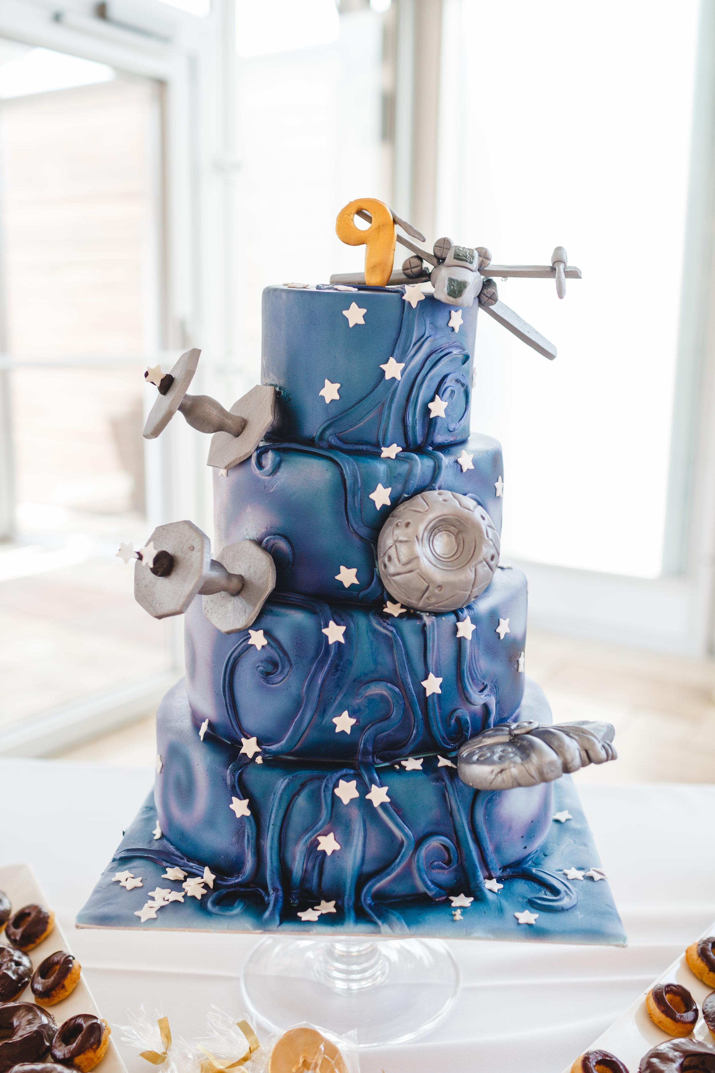star wars birthday cake, boy star wars birthday, Wrap It Up Parties