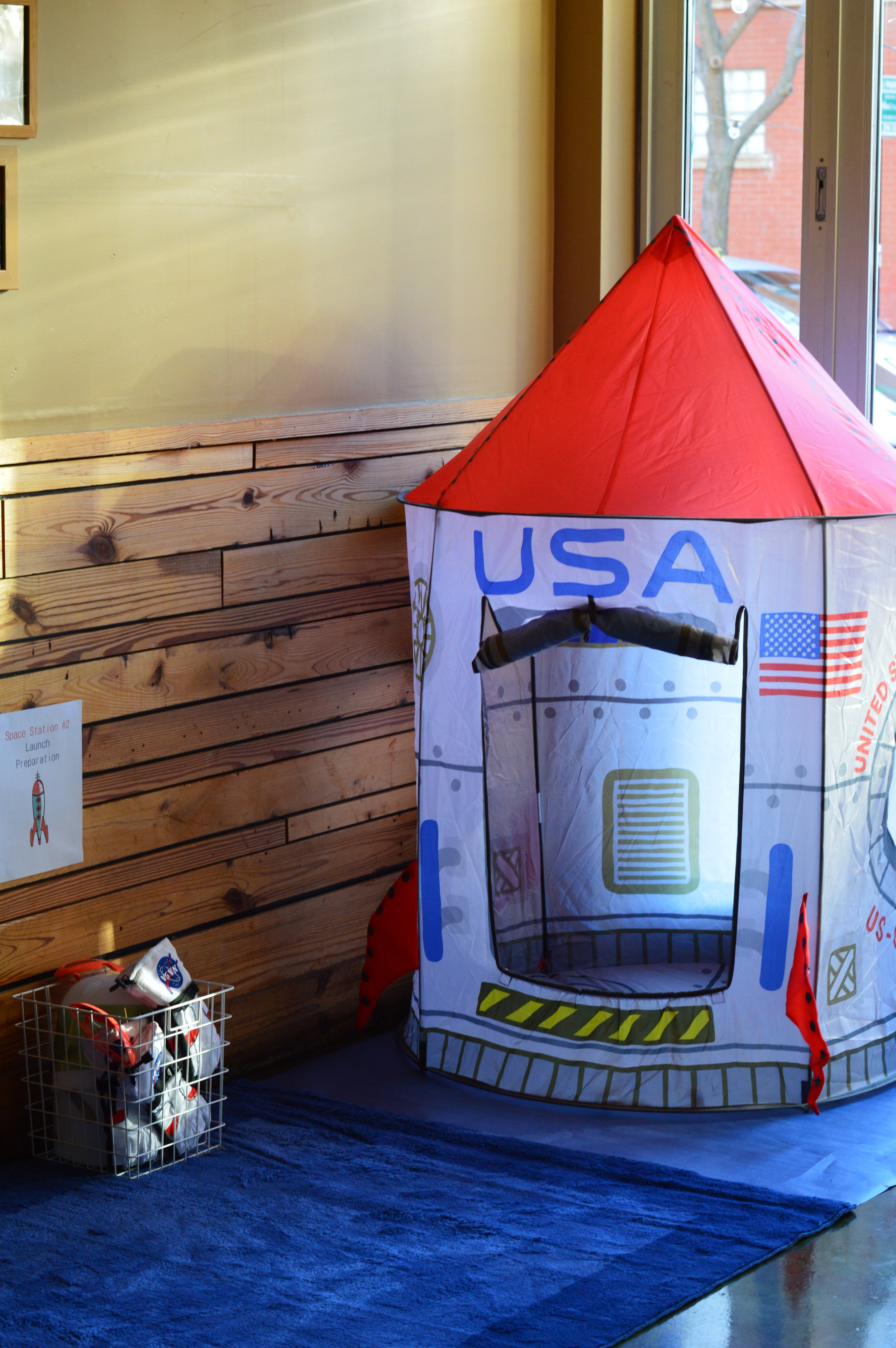 space first birthday, space tent, boy birthday party, Wrap It Up Parties