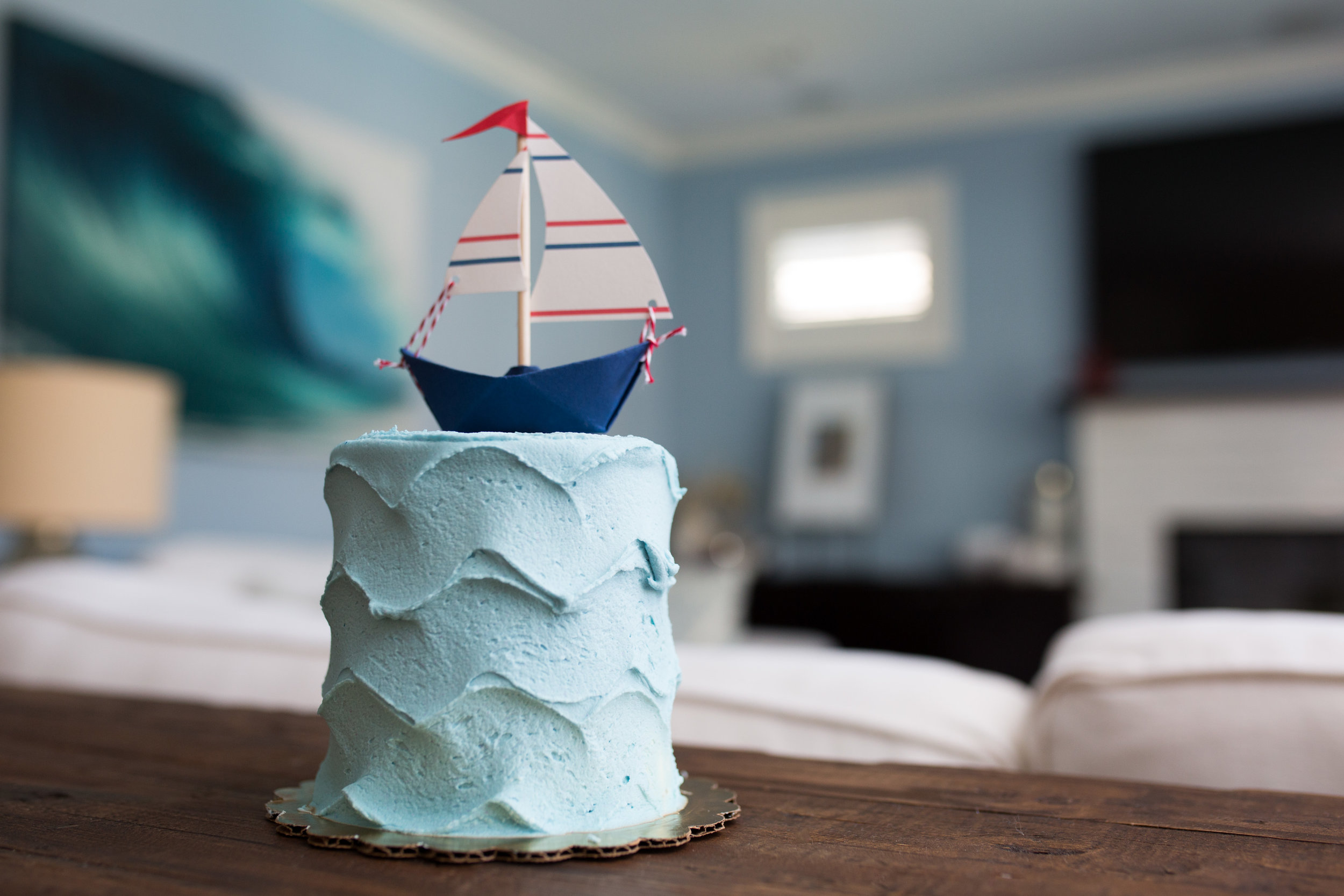 nautical smash cake, nautical first birthday, birthday party, Wrap It Up Parties