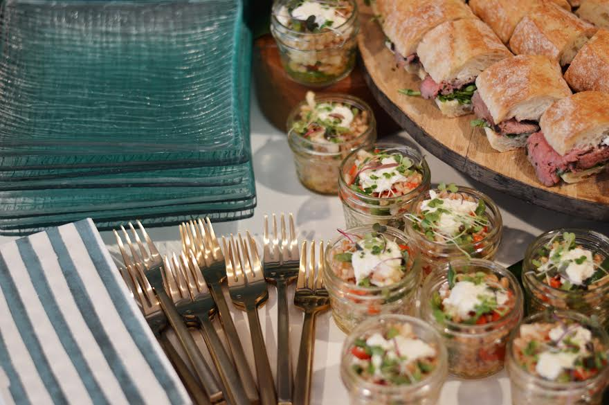 rustic picnic baby shower food, Wrap It Up Parties