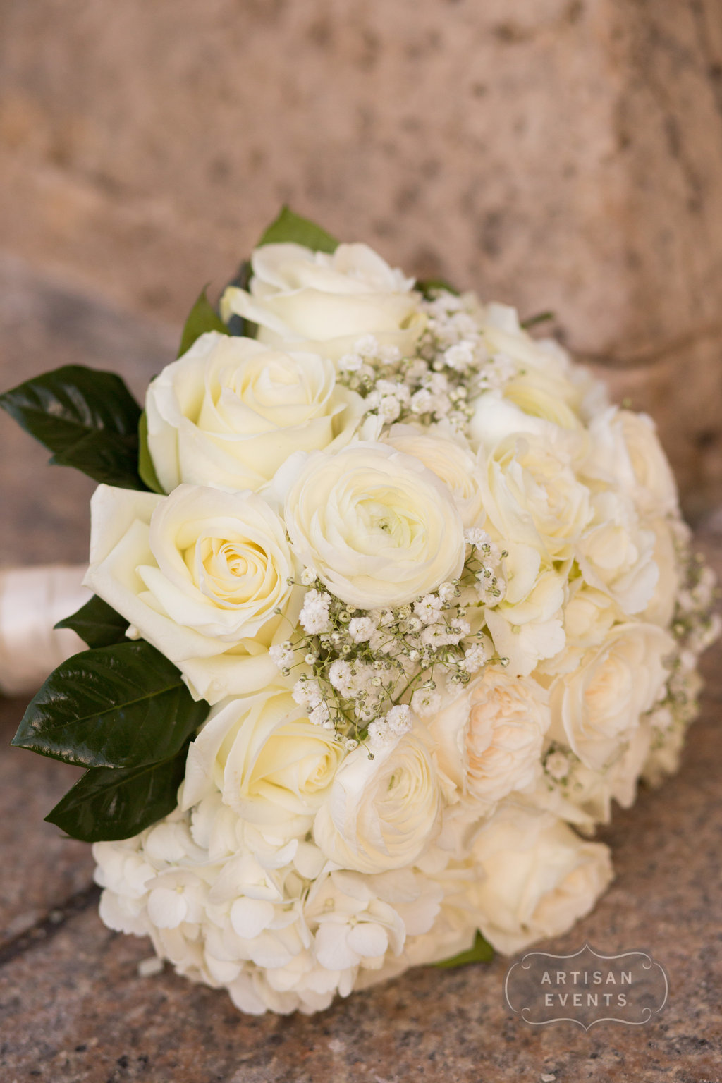 bridal bouquet, Chicago Cultural Center, Wrap It Up Parties