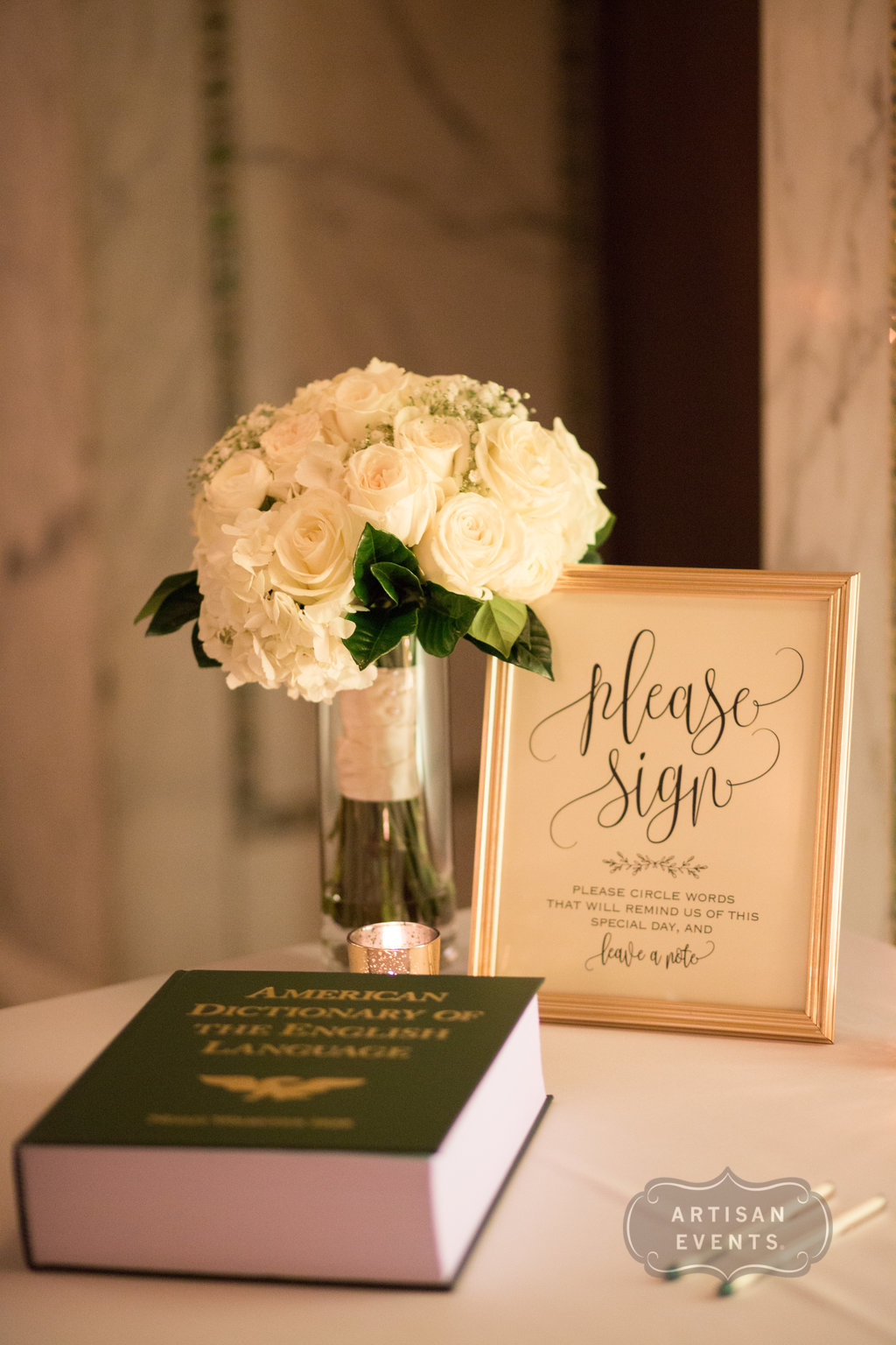 wedding book, Chicago Cultural Center, Wrap It Up Parties