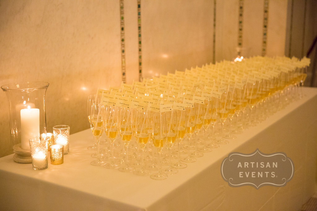 champagne, Chicago Cultural Center, Wrap It Up Parties
