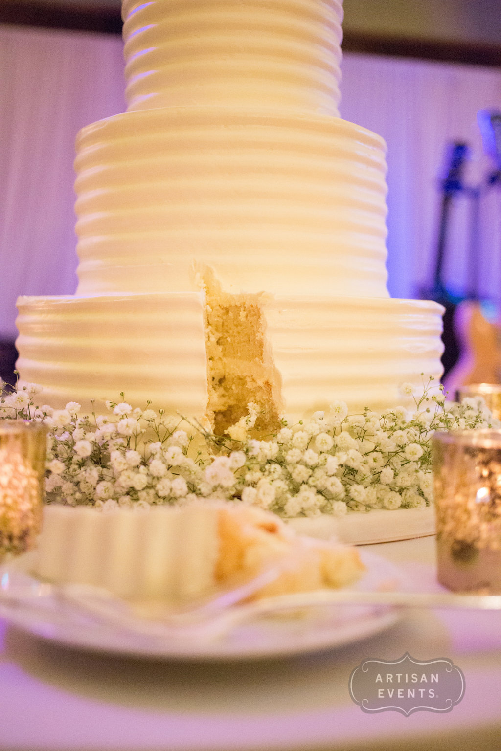 wedding cake, Chicago Cultural Center, Wrap It Up Parties