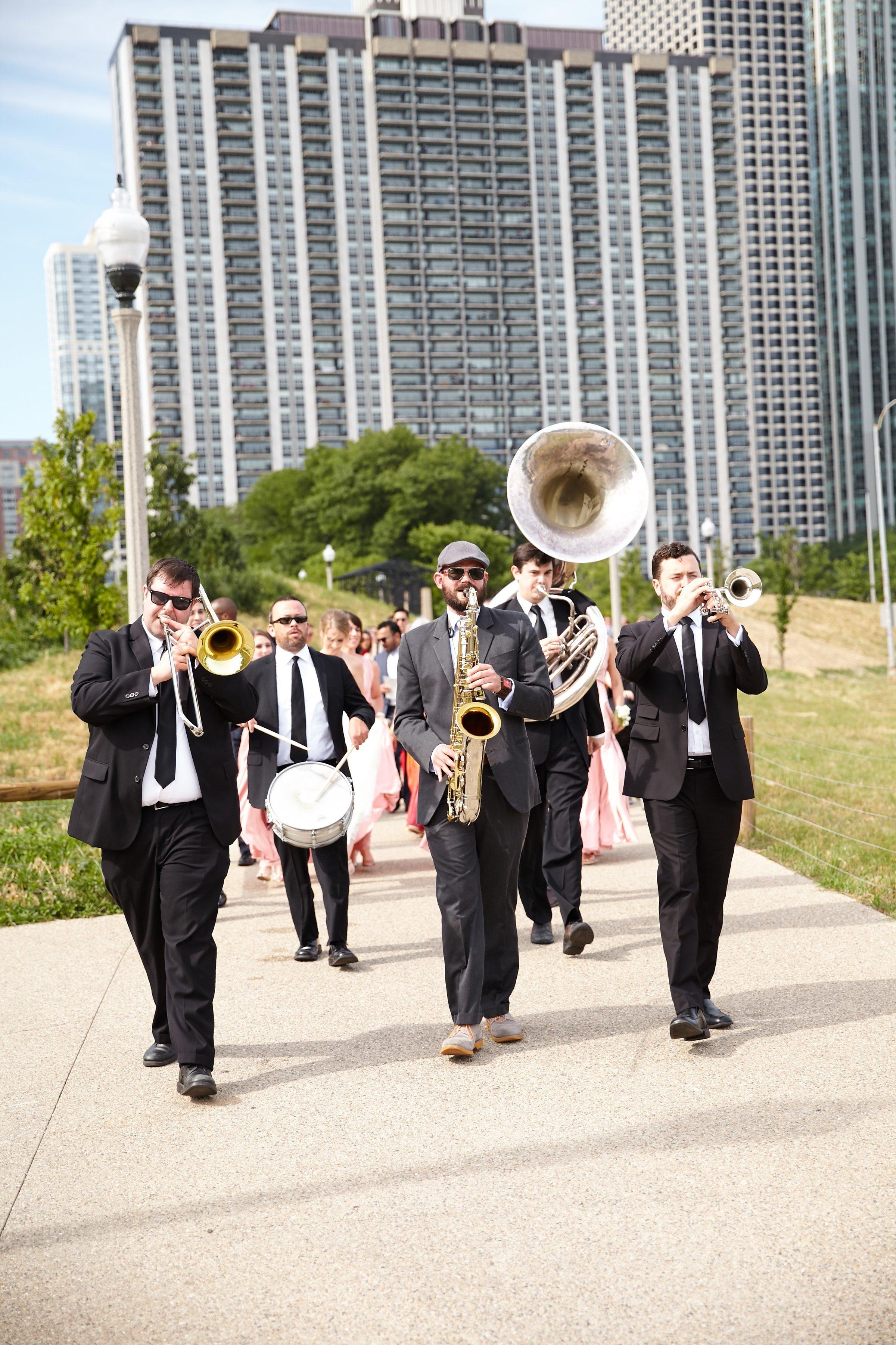 wedding band, Cancer Survivor Park, Wrap It Up Parties
