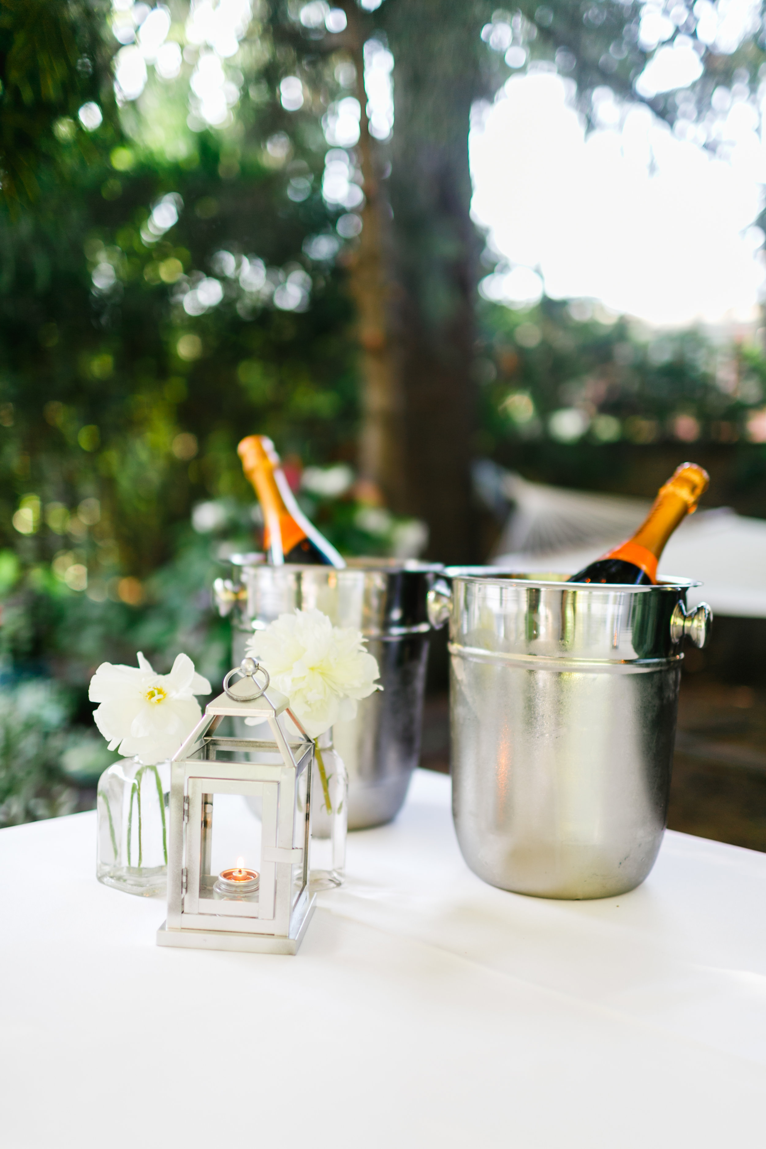 40th Anniversary Party  Champagne Buckets  Planning by Wrap It Up Parties