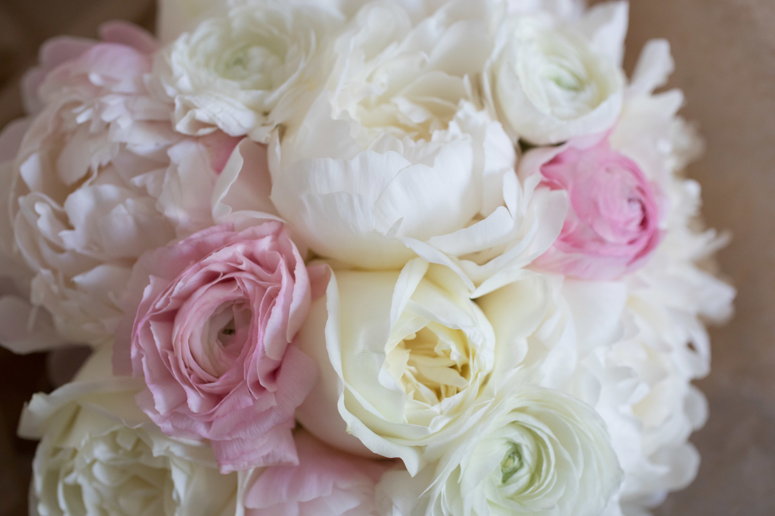 Pink and White Wedding Bouquet  School of the Art Institute  Planning by Wrap It Up Parties