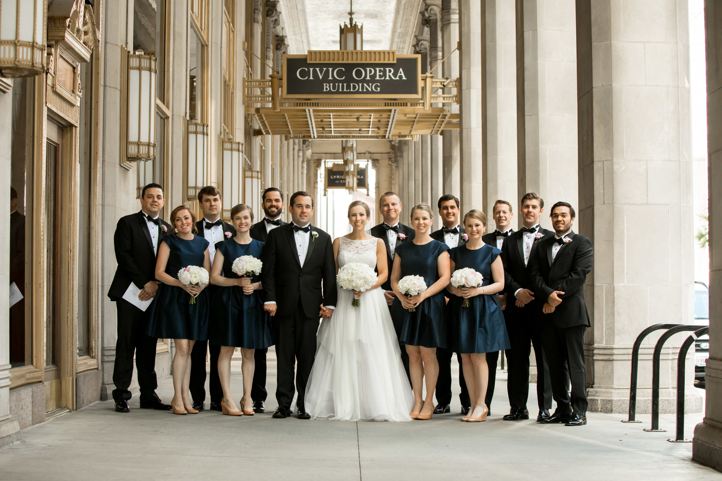 Bridal Party  School of the Art Institute  Planning by Wrap It Up Parties