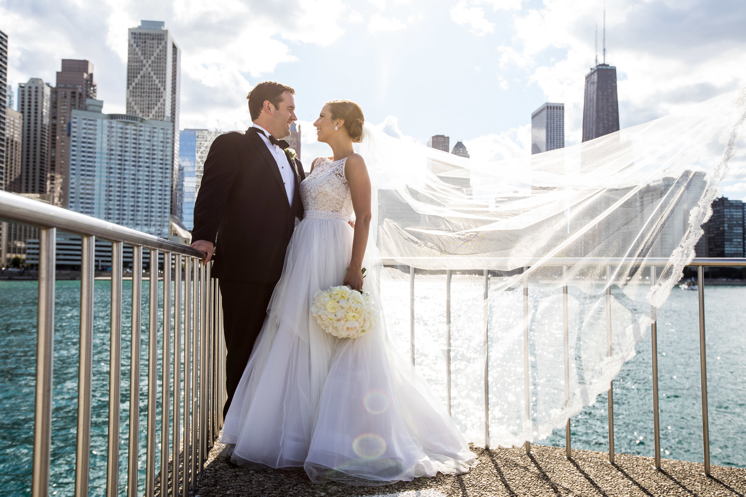 Bride and Groom  School of the Art Institute  Planning by Wrap It Up Parties