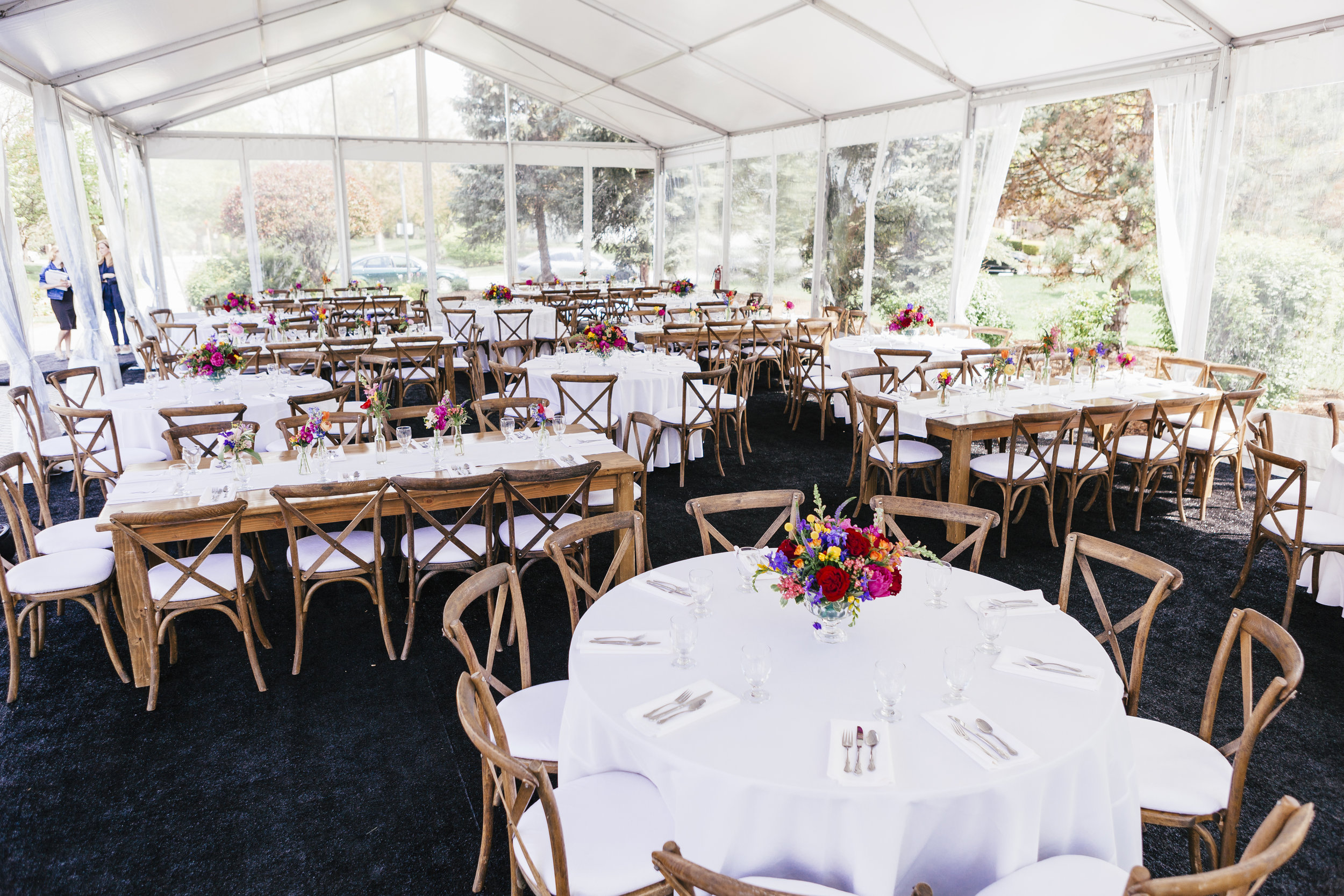 Private Residence Wedding  Tent Wedding Reception  Planning by Wrap It Up Parties