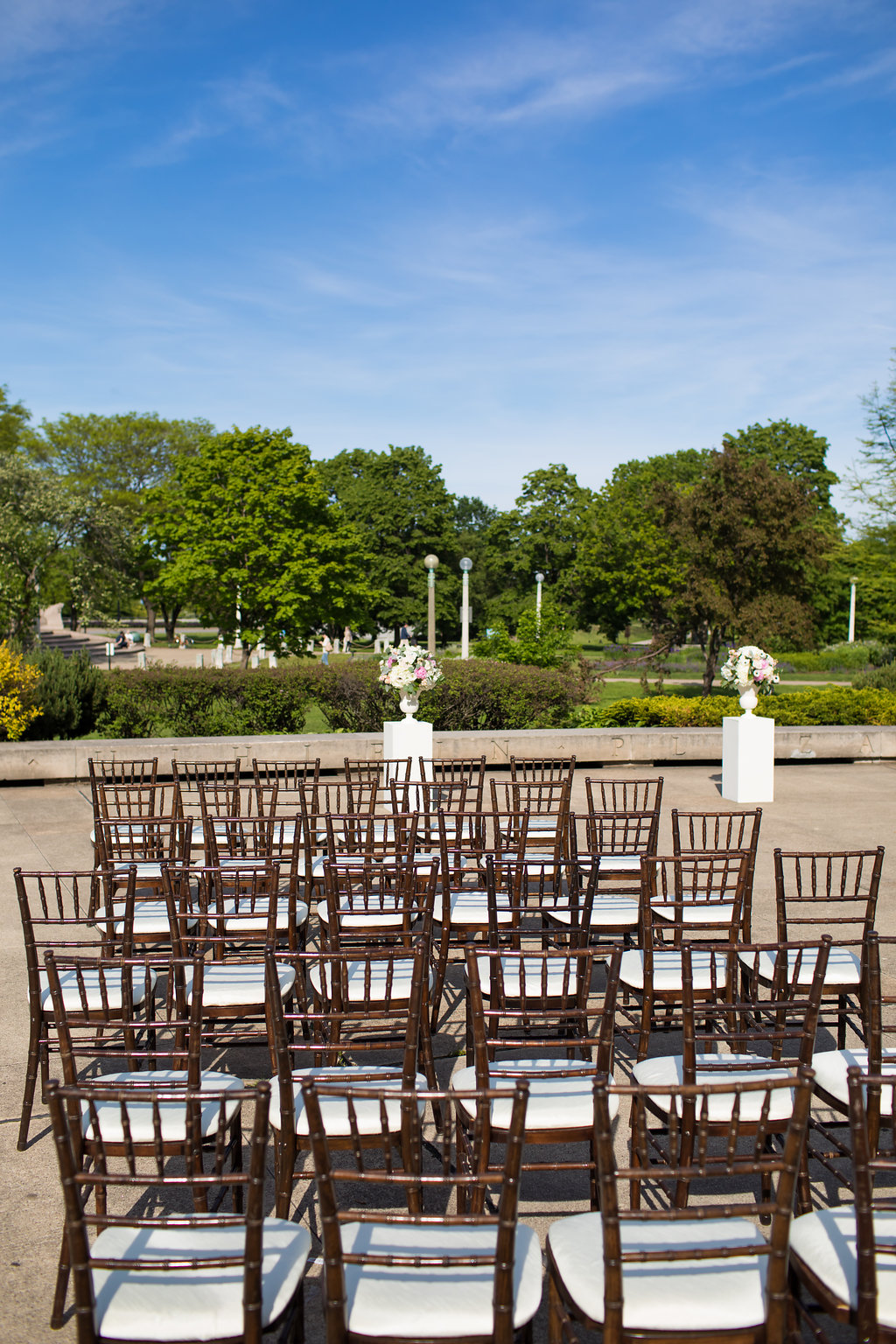 Ceremony Seating  Planning by Wrap It Up Parties