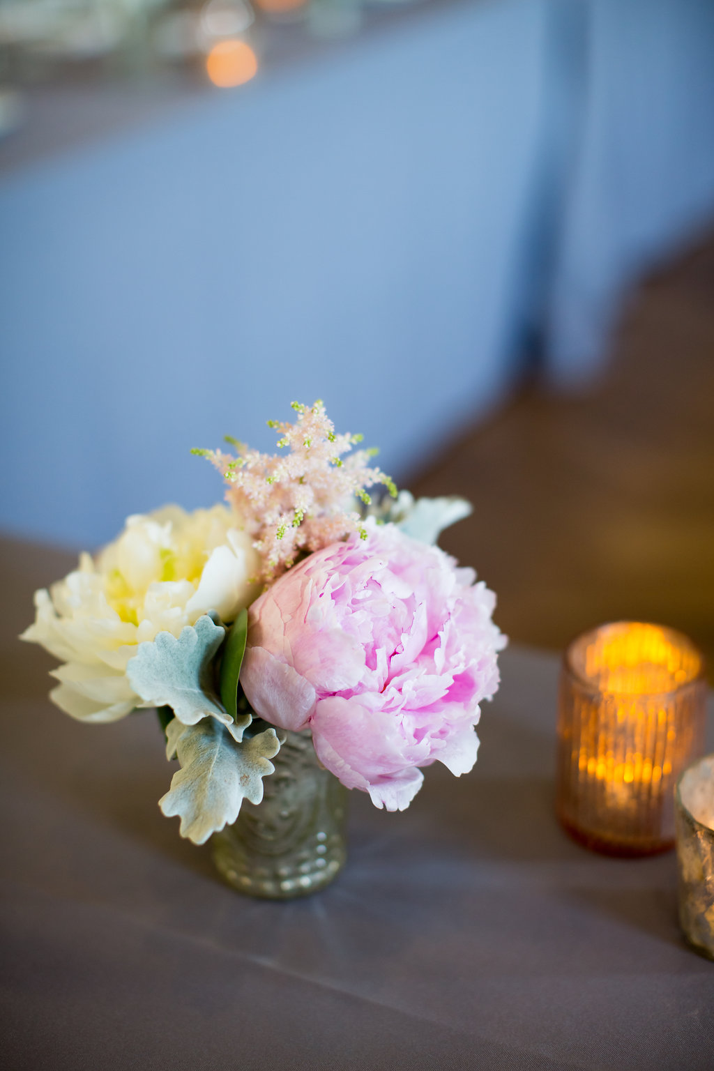 Pink and White Floral Decor  Planning by Wrap It Up Parties