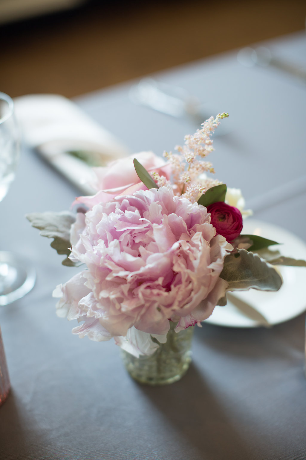 Floral Table Decor  Planning by Wrap It Up Parties