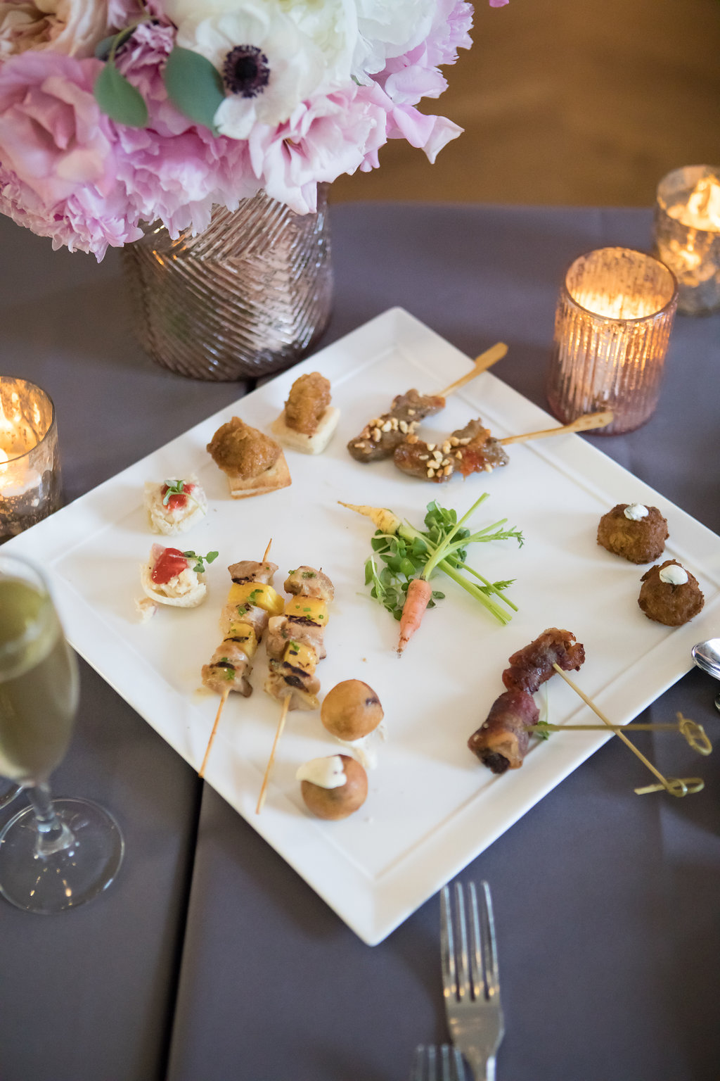 Wedding Reception Food  Planning by Wrap It Up Parties