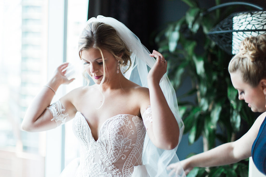 Bride  Wedding Veil  Planning by Wrap It Up Parties