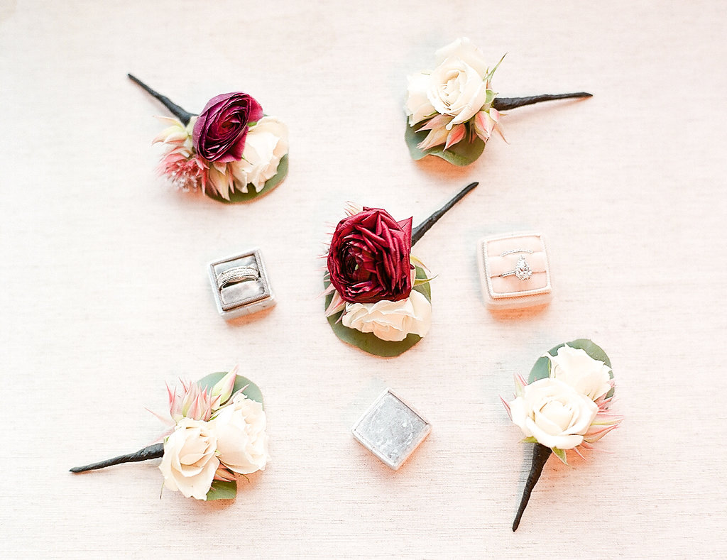 Wedding Boutonieres  Planning by Wrap It Up Parties