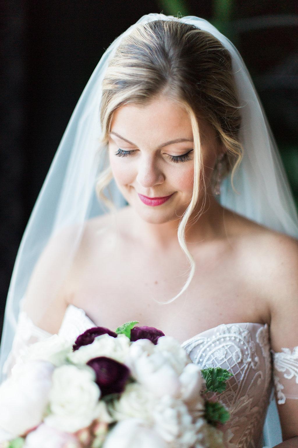 Bridal Makeup  Bridal Bouquet  Planning by Wrap It Up Parties