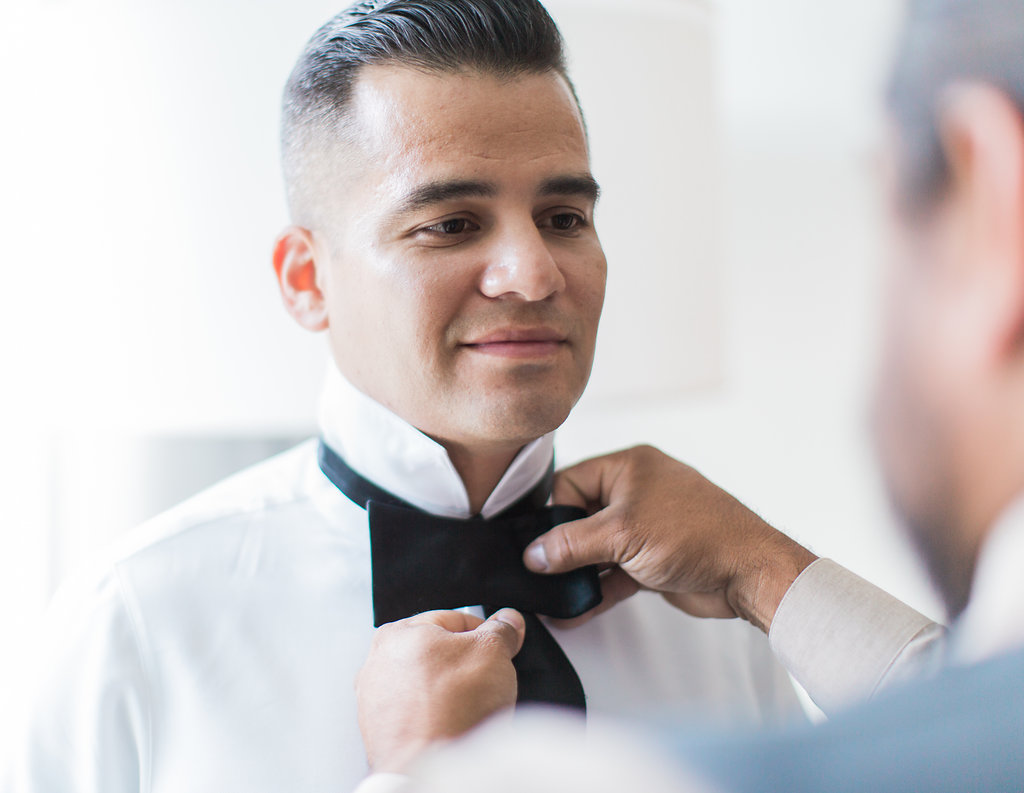 Groom  Groom Bowtie  Planning by Wrap It Up Parties