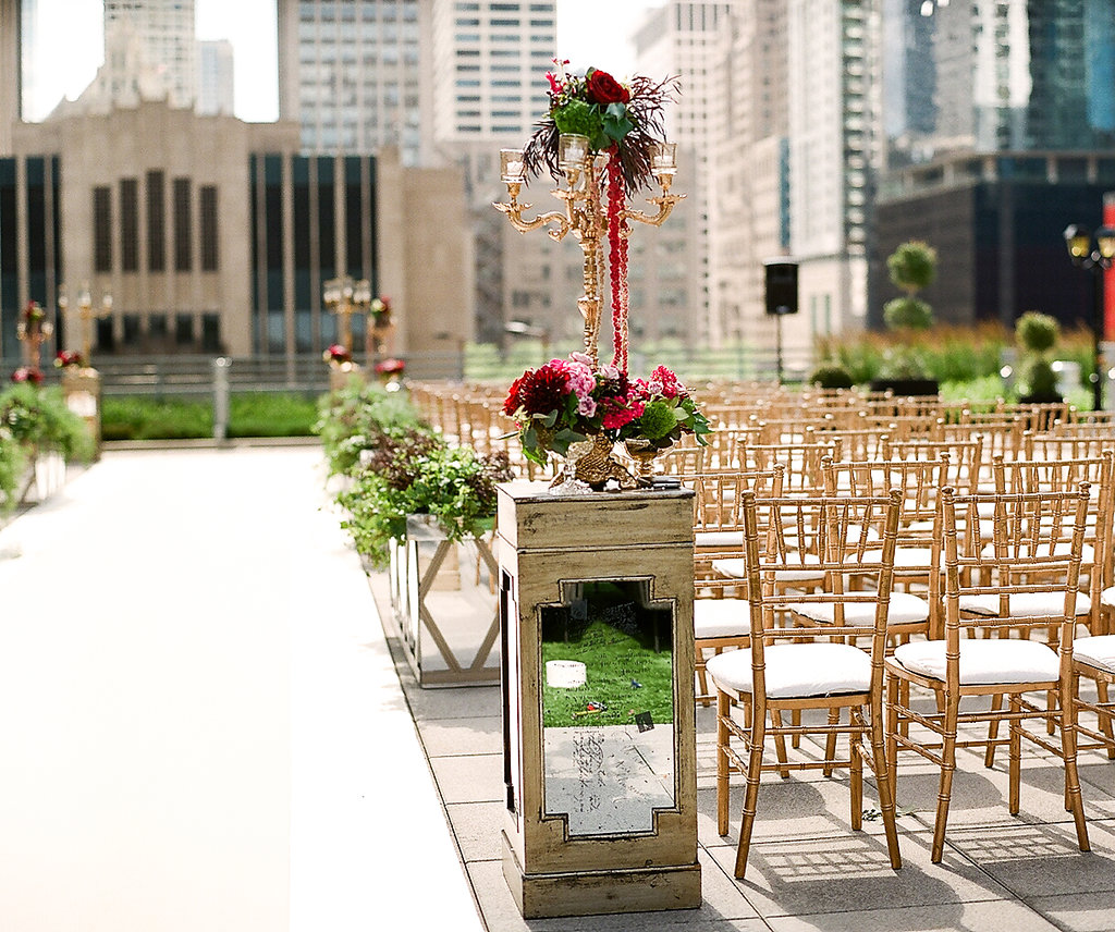 Wedding Ceremony  Loews Hotel  Planning by Wrap It Up Parties