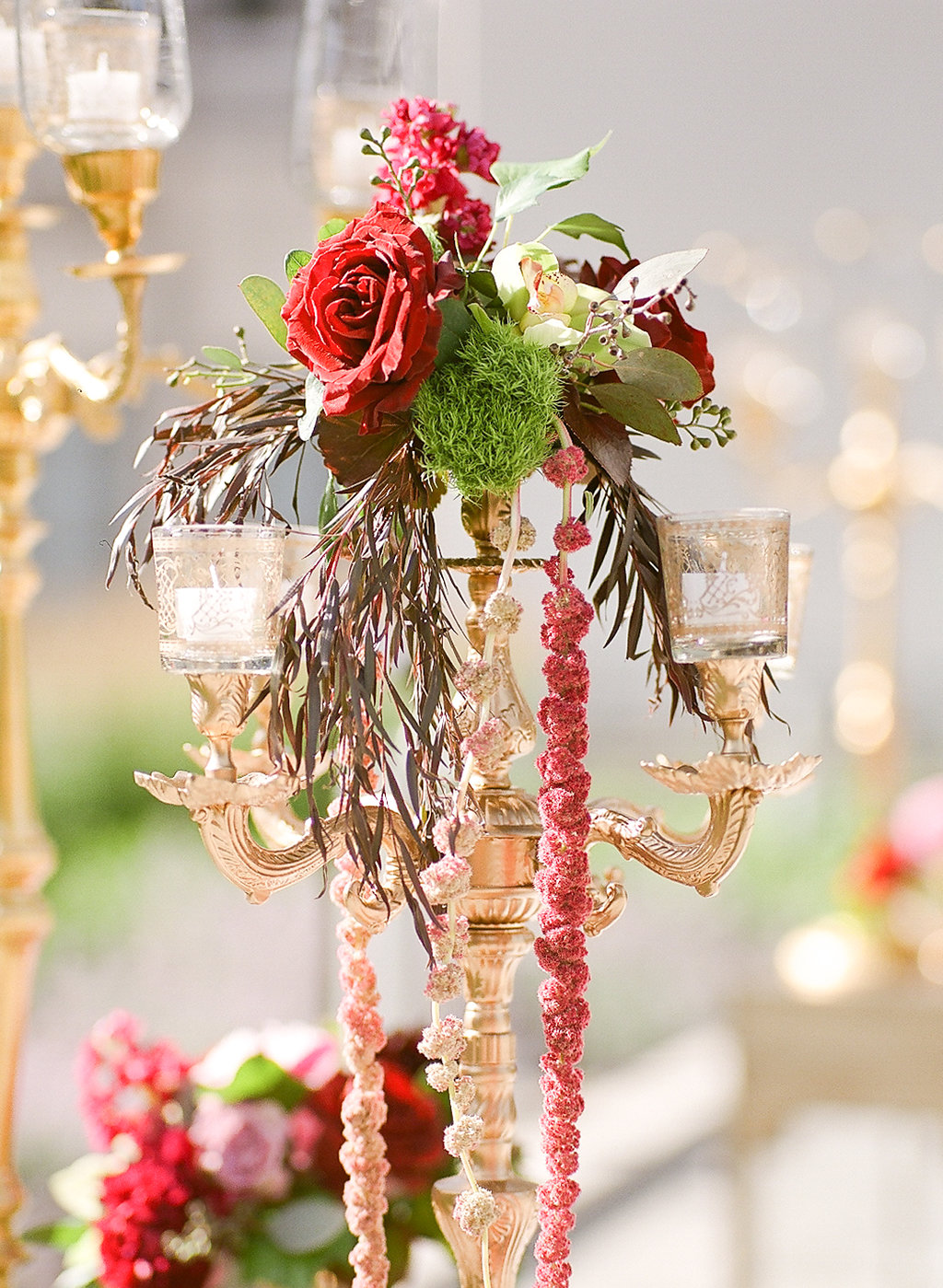 Floral Details  Planning by Wrap It Up Parties