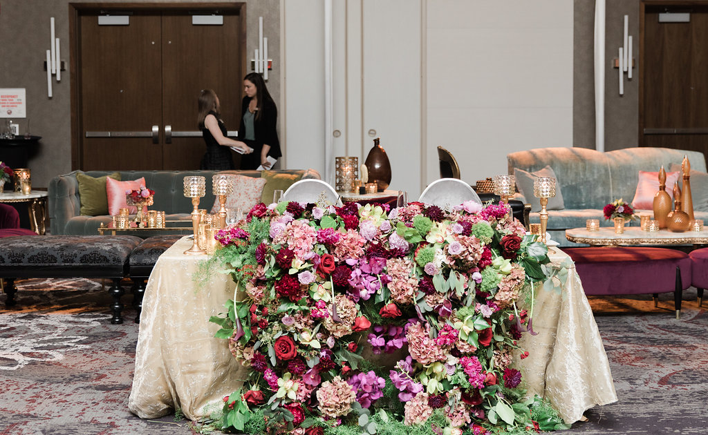 Sweetheart Table Decor  Planning by Wrap It Up Parties