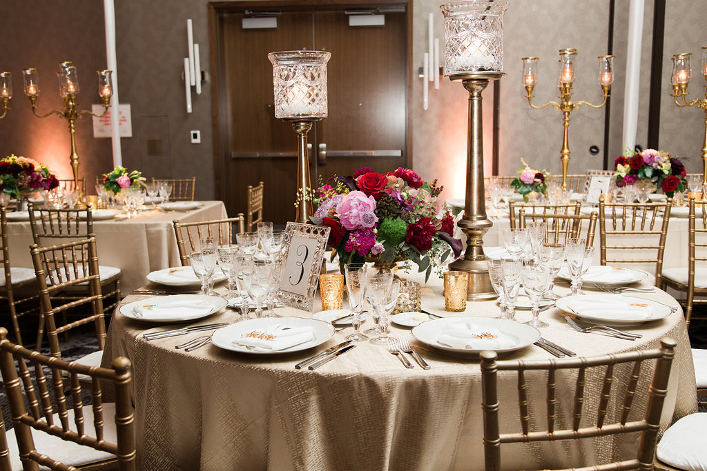Fall Wedding Reception Decor  Planning by Wrap It Up Parties