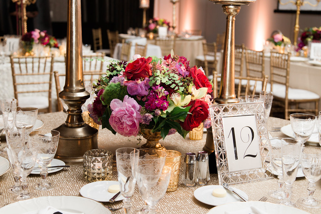 Floral Center Piece  Planning by Wrap It Up Parties