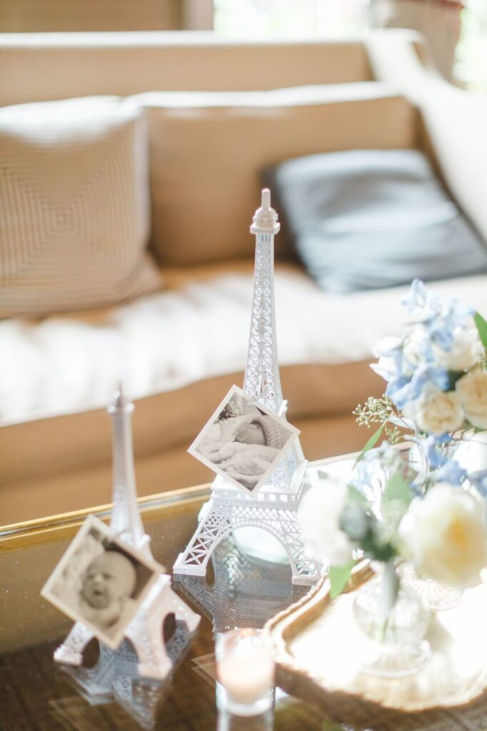 Bonjour Bebe Shower  French Theme Shower Decor  Planning by Wrap It Up Parties