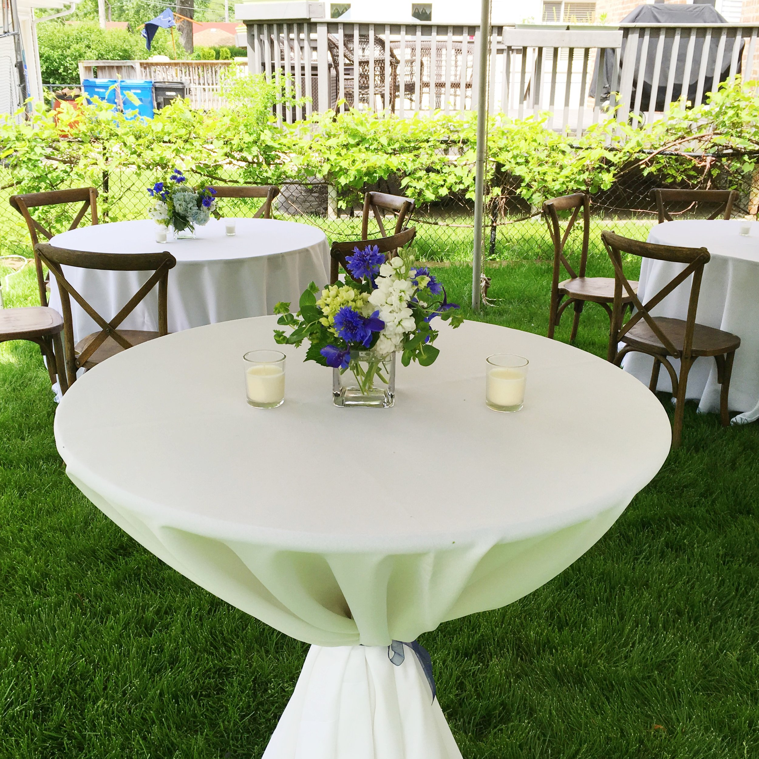 Graduation Party Table Decor  Planning by Wrap It Up Parties