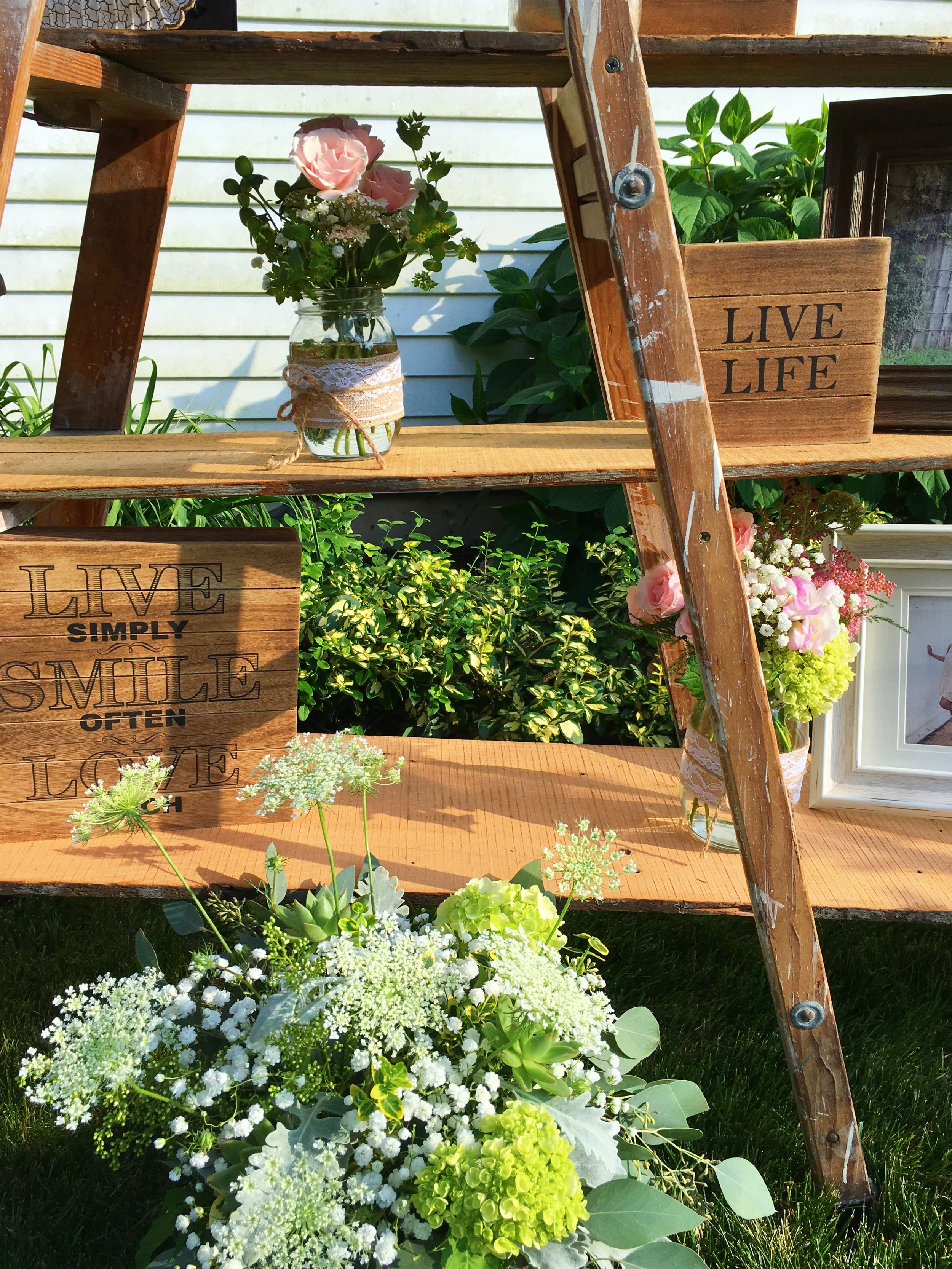 Rustic Graduation Party Decor  Planning by Wrap It Up Parties