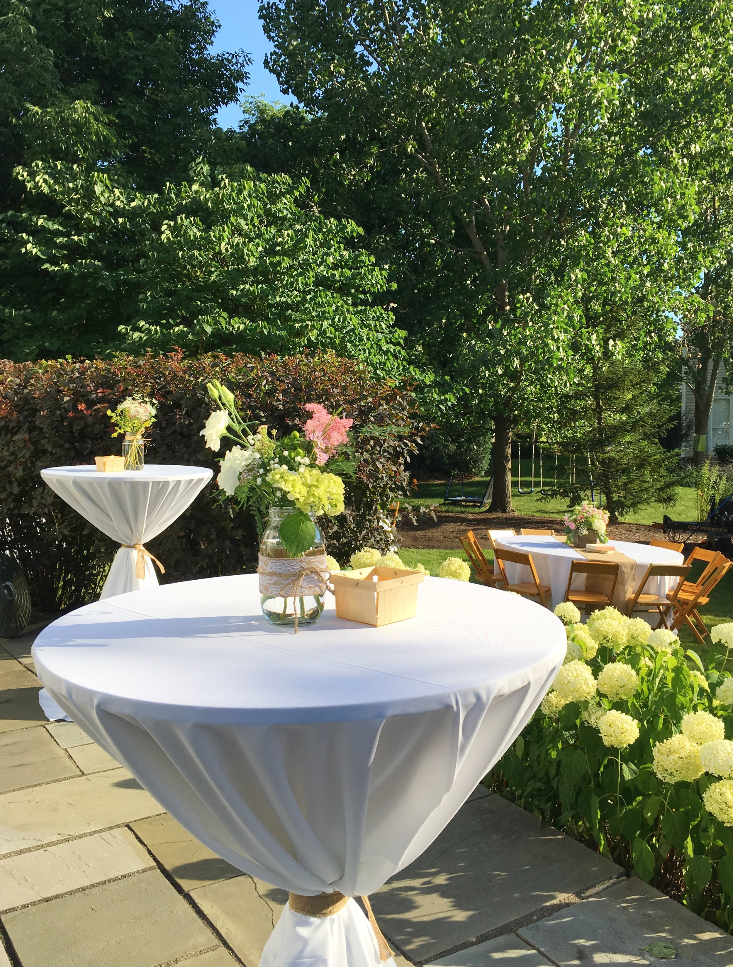 Rustic Graduation Party Table Decor  Planning by Wrap It Up Parties