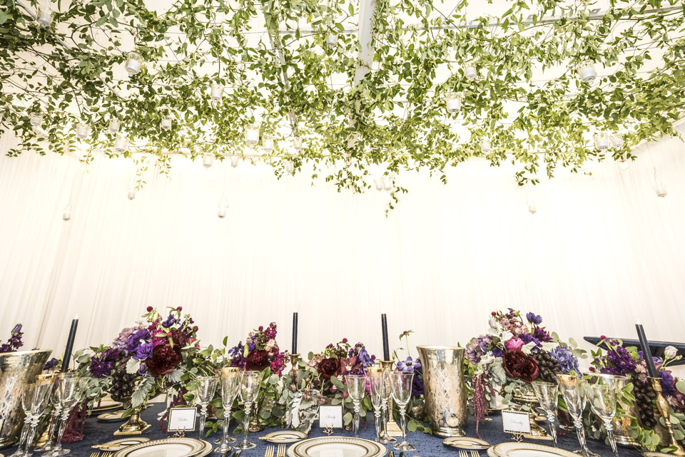 Retirement Party Floral Decor  Planning by Wrap It Up Parties